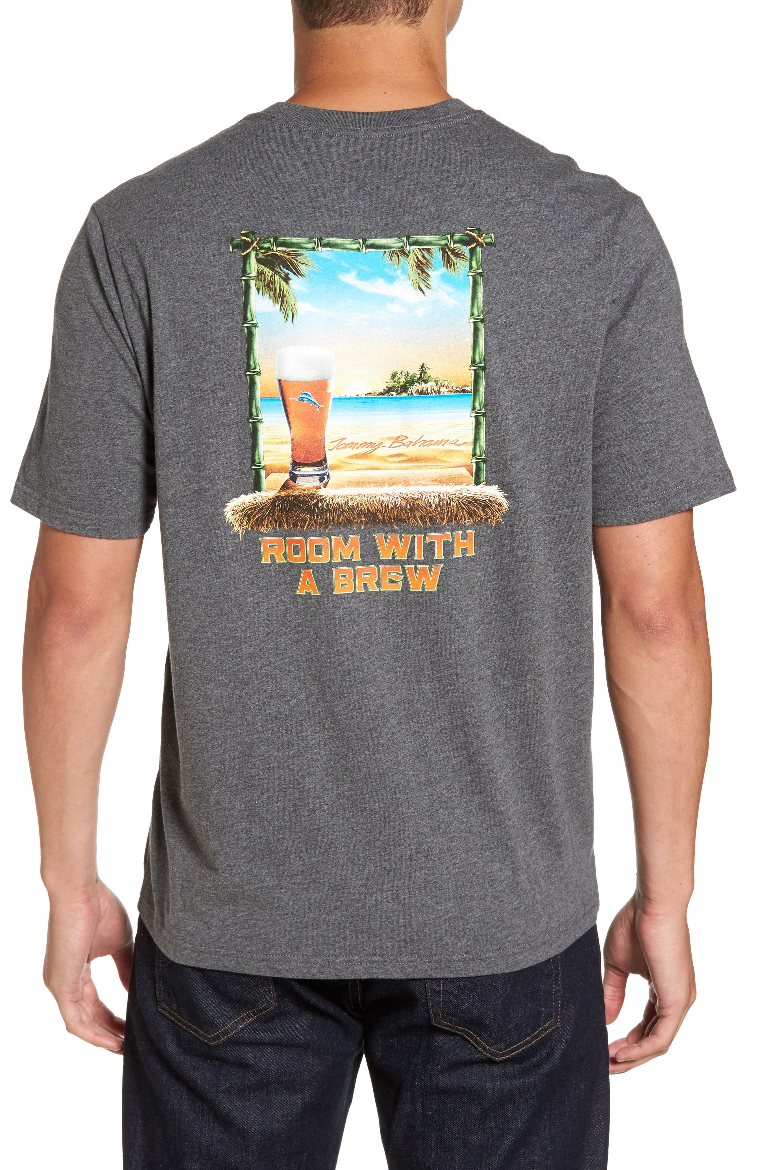 Tommy Bahama Room with a Brew Standard Fit T-Shirt