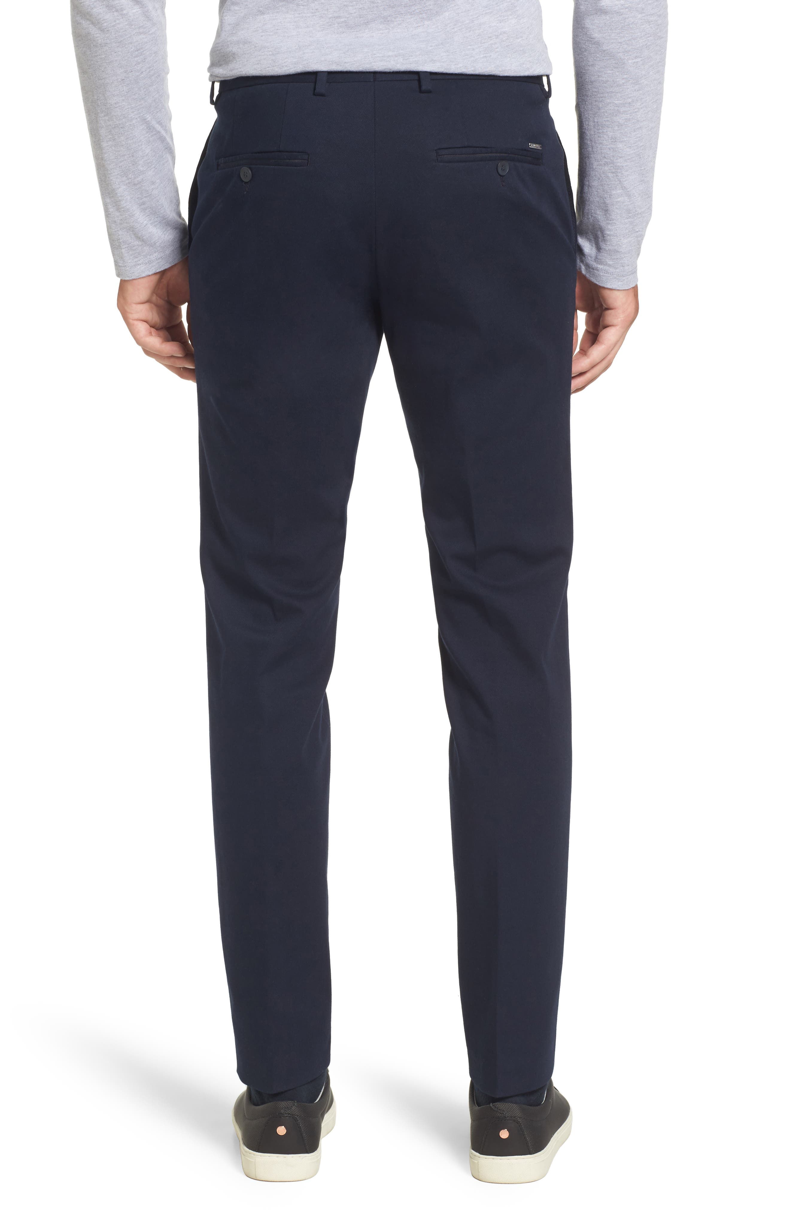 Batho-W Regular Fit Trousers,                             Alternate thumbnail 2, color,                             Navy