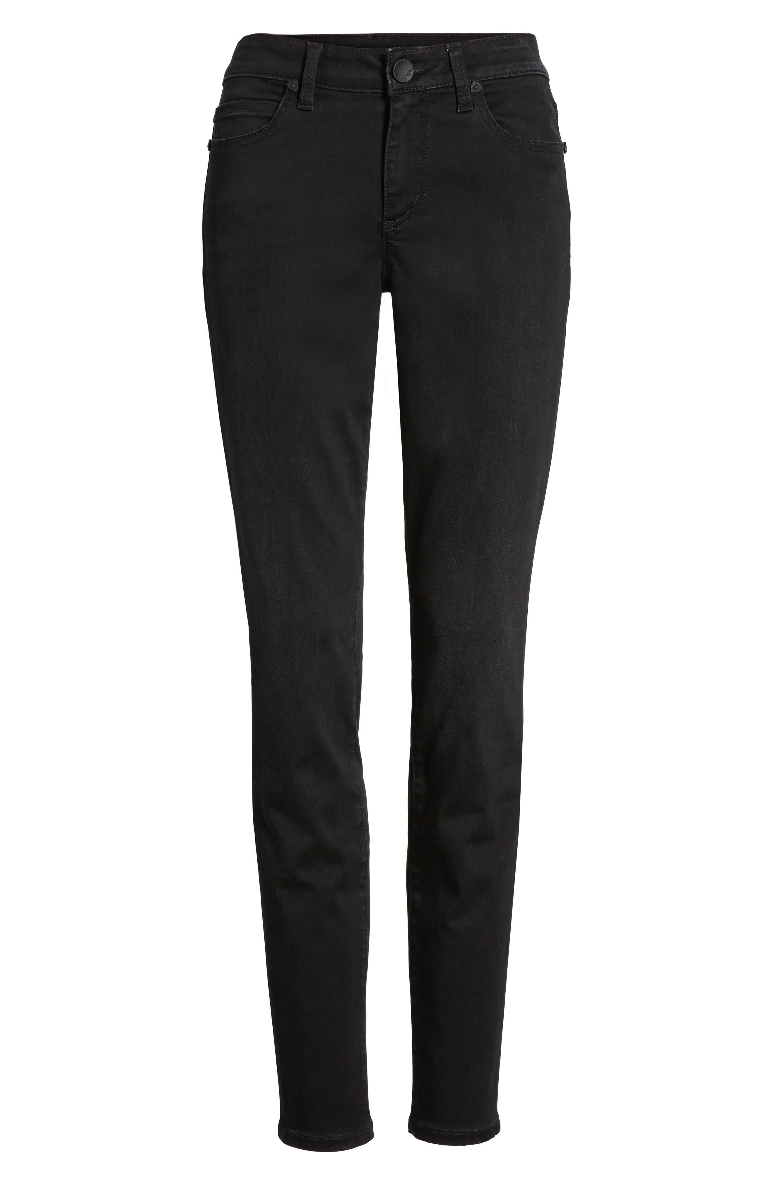 Alternate Image 6  - KUT from the Kloth Mia Curvy Fit Skinny Jeans (Regular & Petite)