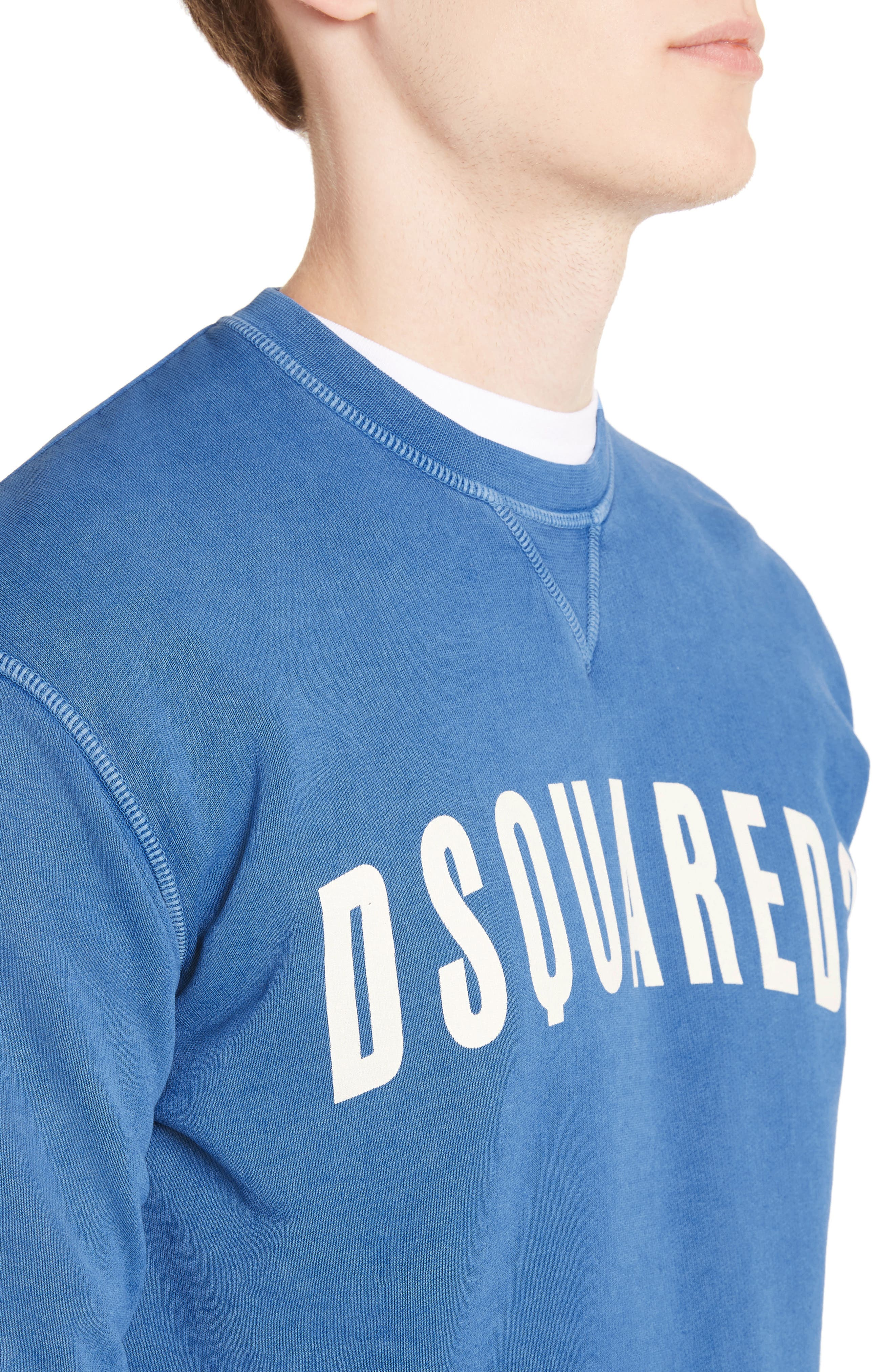 Alternate Image 4  - Dsquared2 Logo Sweatshirt