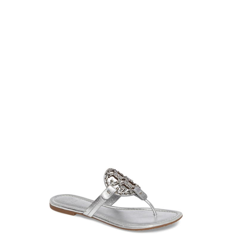 Main Image - Tory Burch Miller Embellished Sandal (Women)