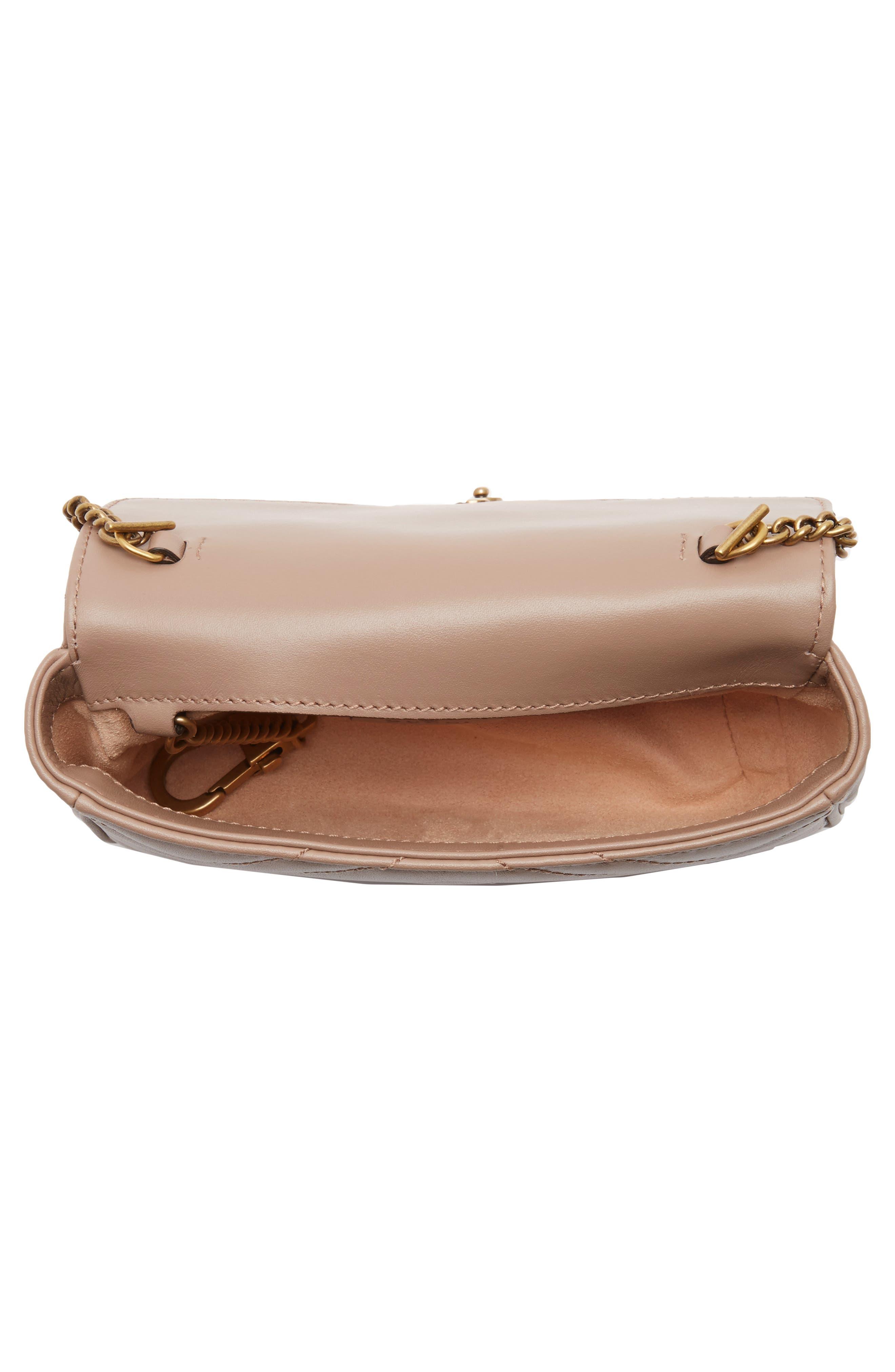 Alternate Image 3  - Gucci Supermini GG Marmont 2.0 Matelassé Leather Shoulder Bag