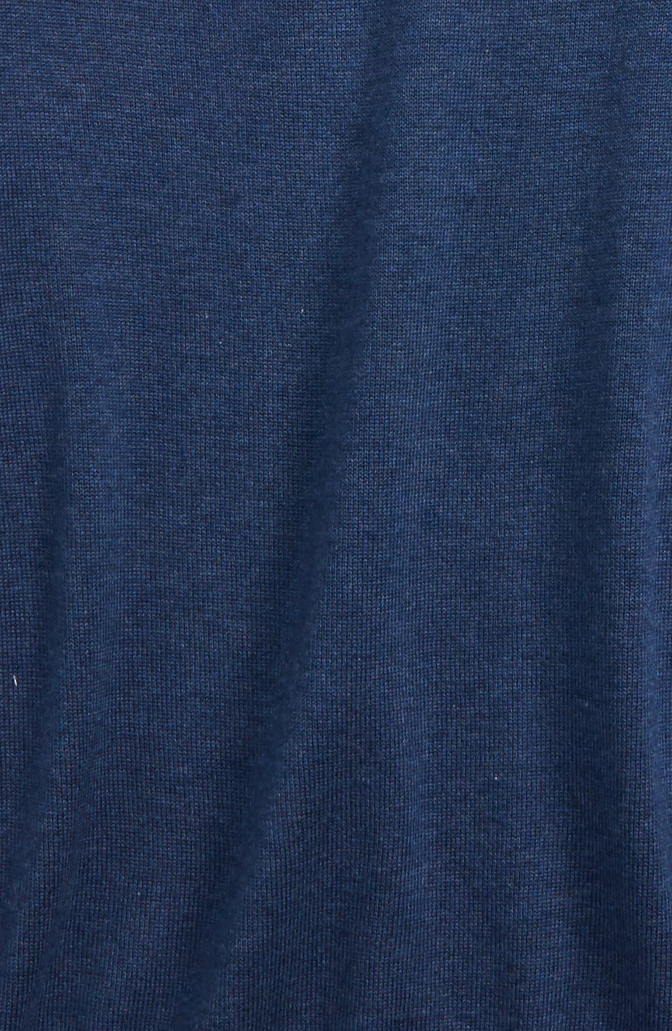 Classic Quarter Zip Sweater,                             Alternate thumbnail 2, color,                             Deep Bay