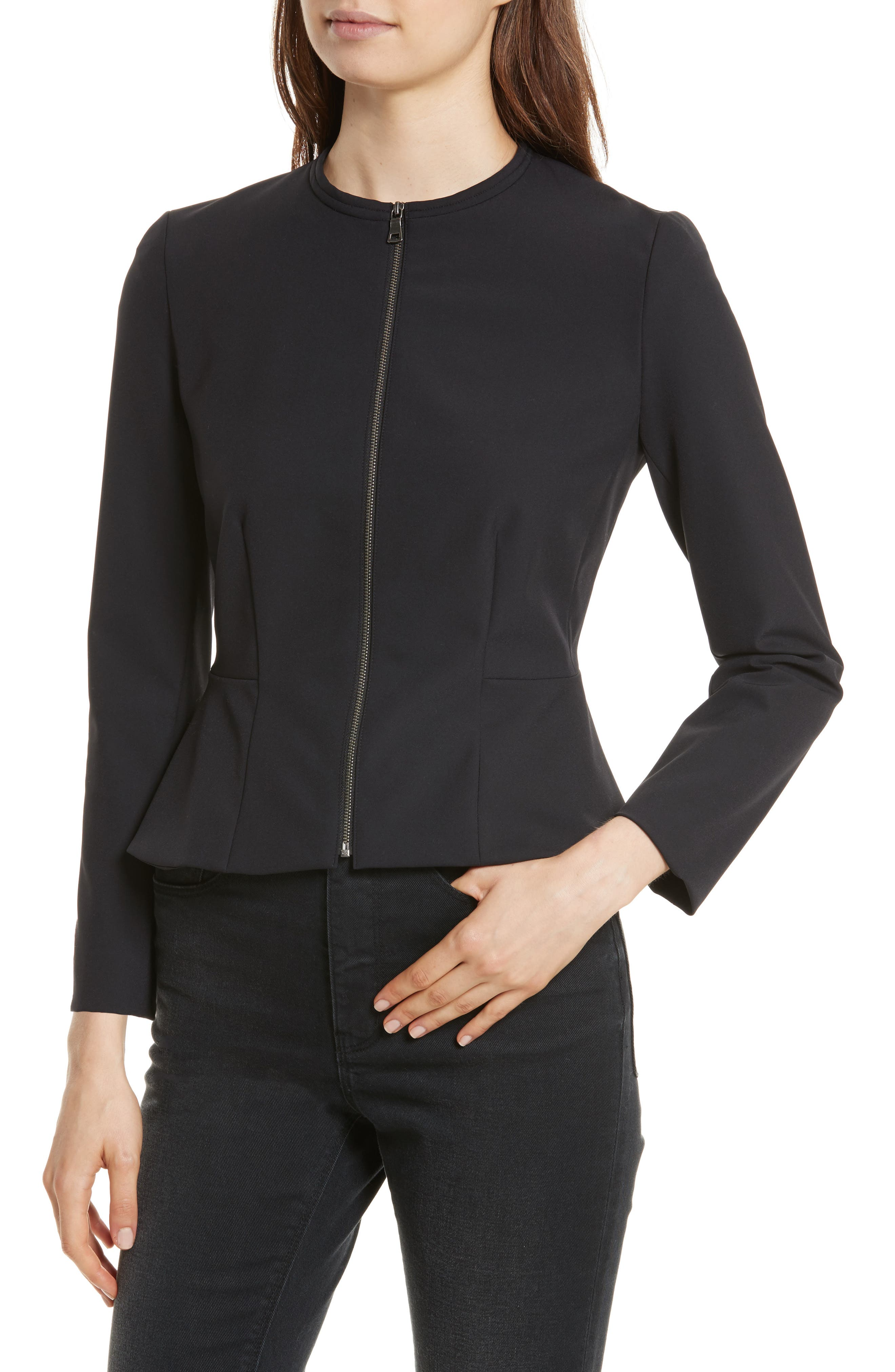 Alternate Image 4  - Rebecca Taylor Ava Peplum Jacket