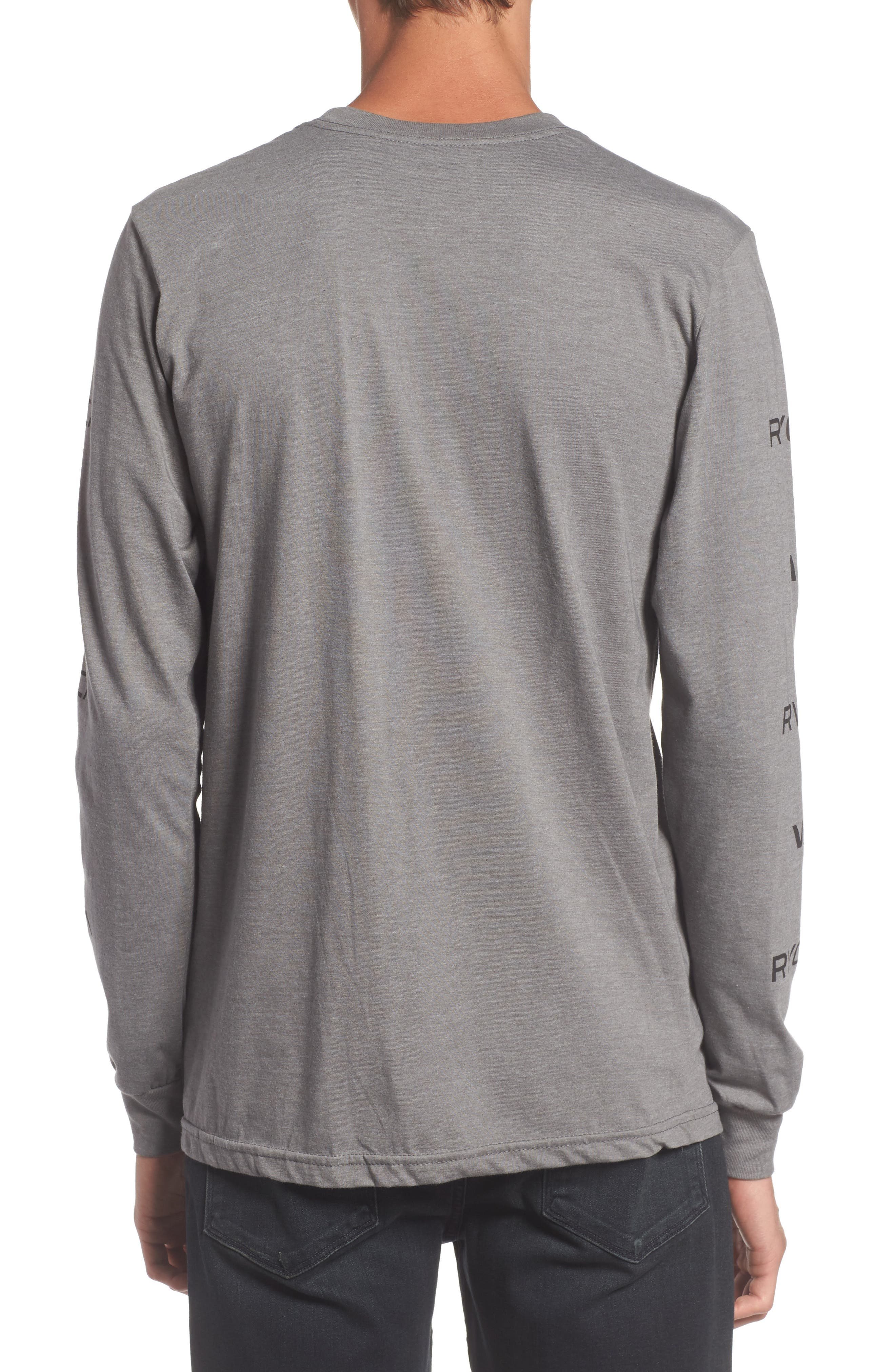 Alternate Image 2  - RVCA Brand Stack Graphic T-Shirt