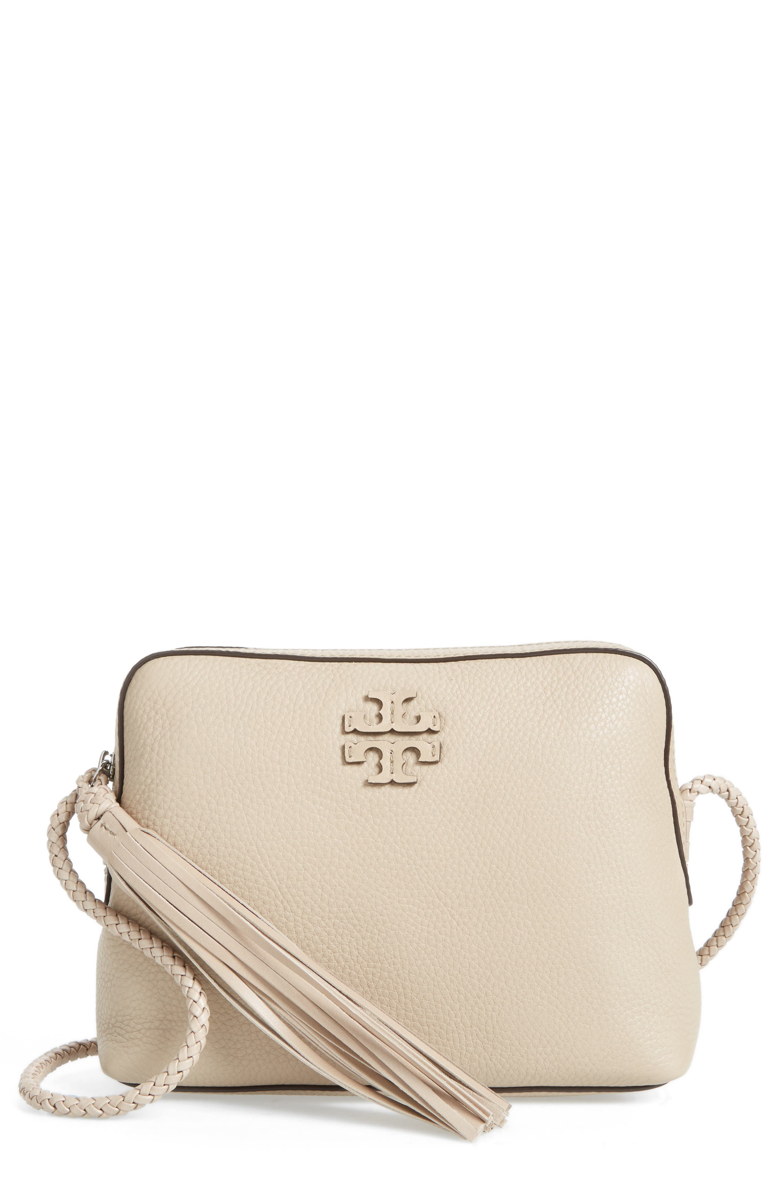Main Image - Tory Burch Taylor Leather Camera Bag