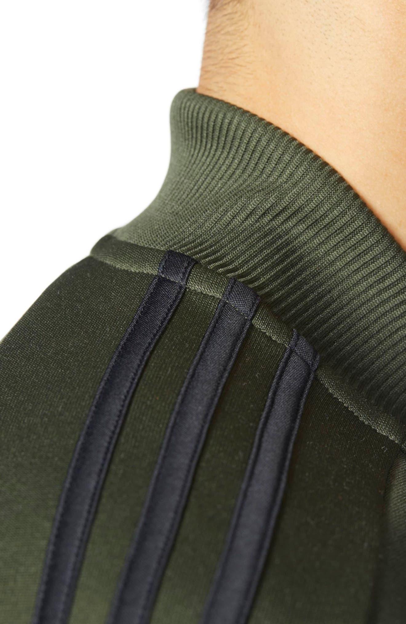 Alternate Image 4  - adidas Sport ID Track Bomber Jacket