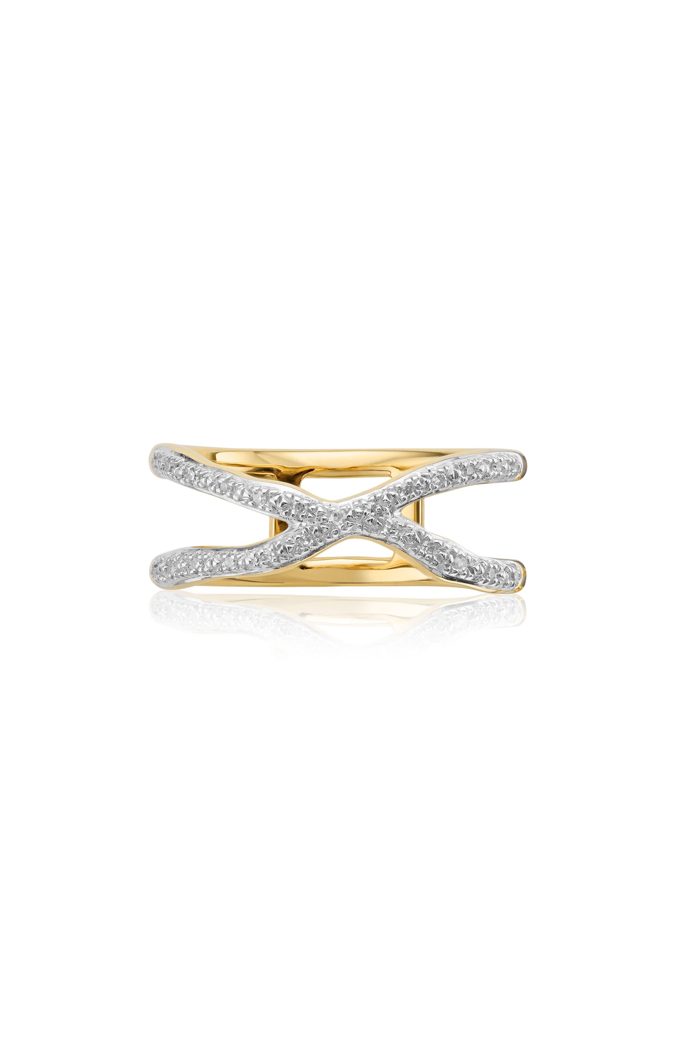 Monica Vinader RIVA DIAMOND RING