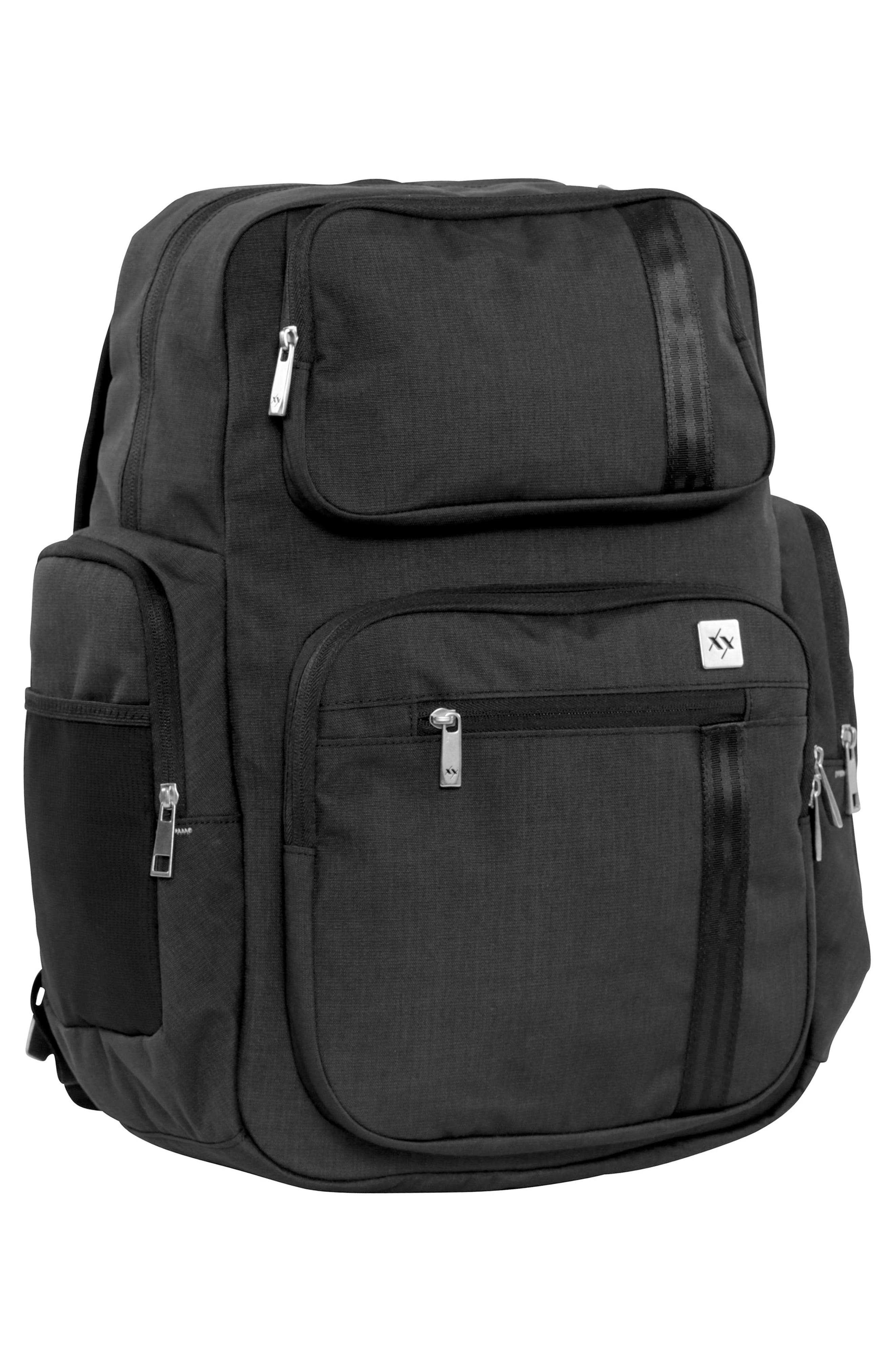 XY Vector Diaper Backpack,                             Alternate thumbnail 4, color,                             Carbon