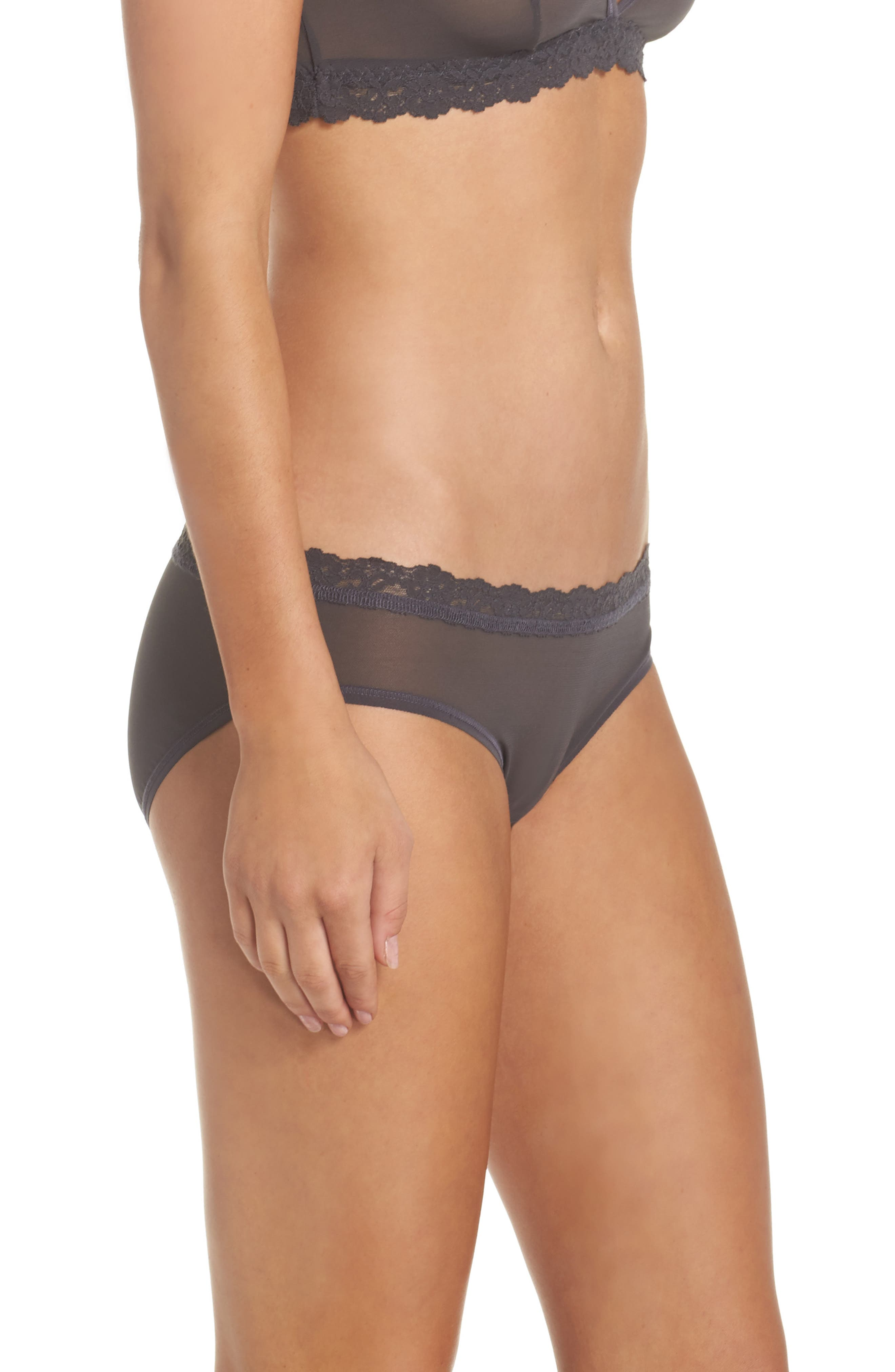 Alternate Image 3  - Hanky Panky Mesh Bikini