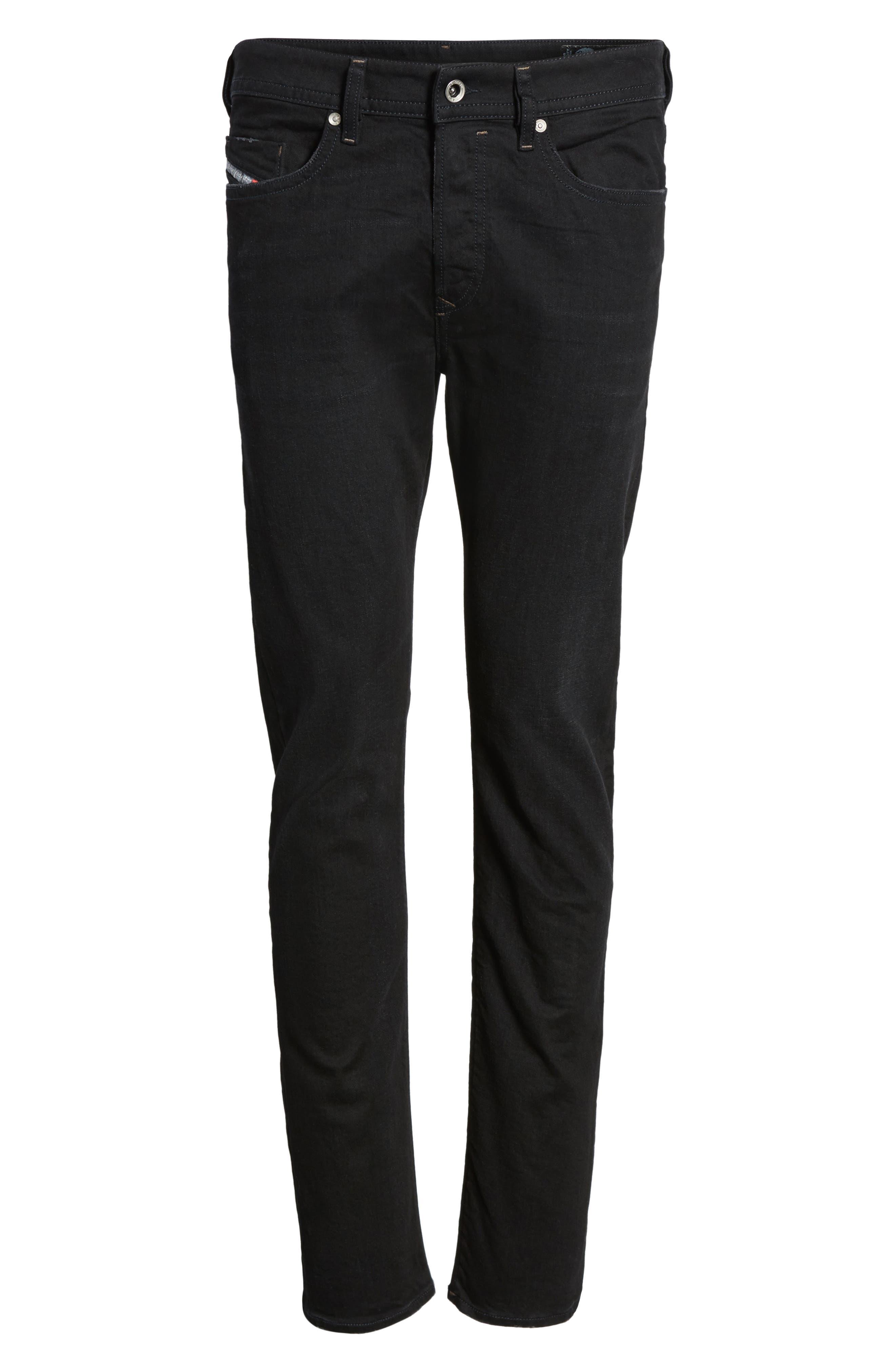 Alternate Image 1 Selected - DIESEL® Buster Slim Straight Fit Jeans (0674N)