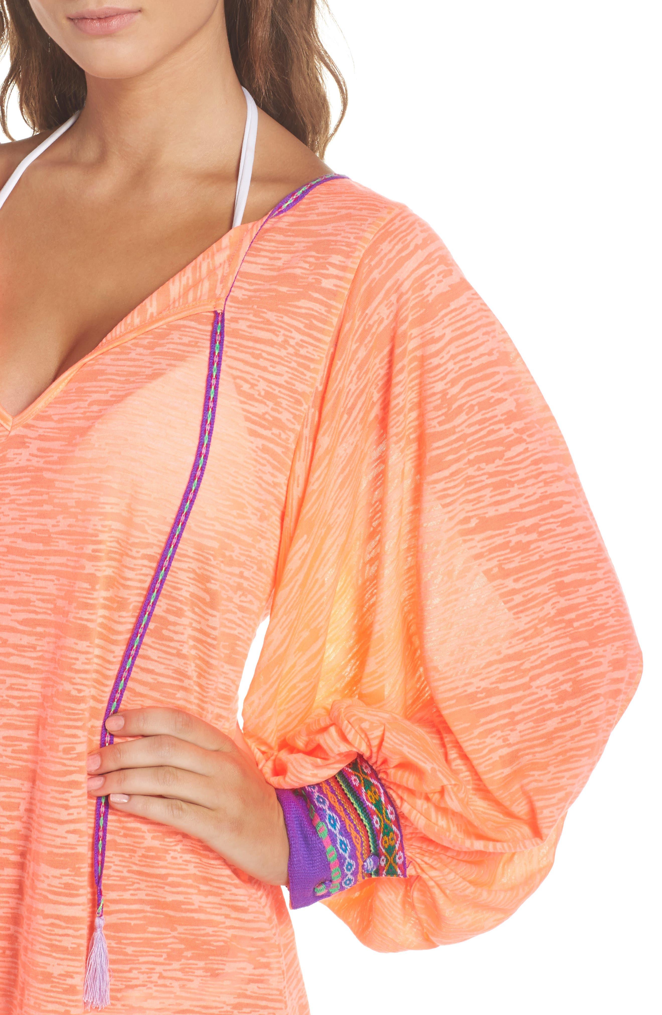 Alternate Image 4  - PITUSA Inca Cover-Up Dress