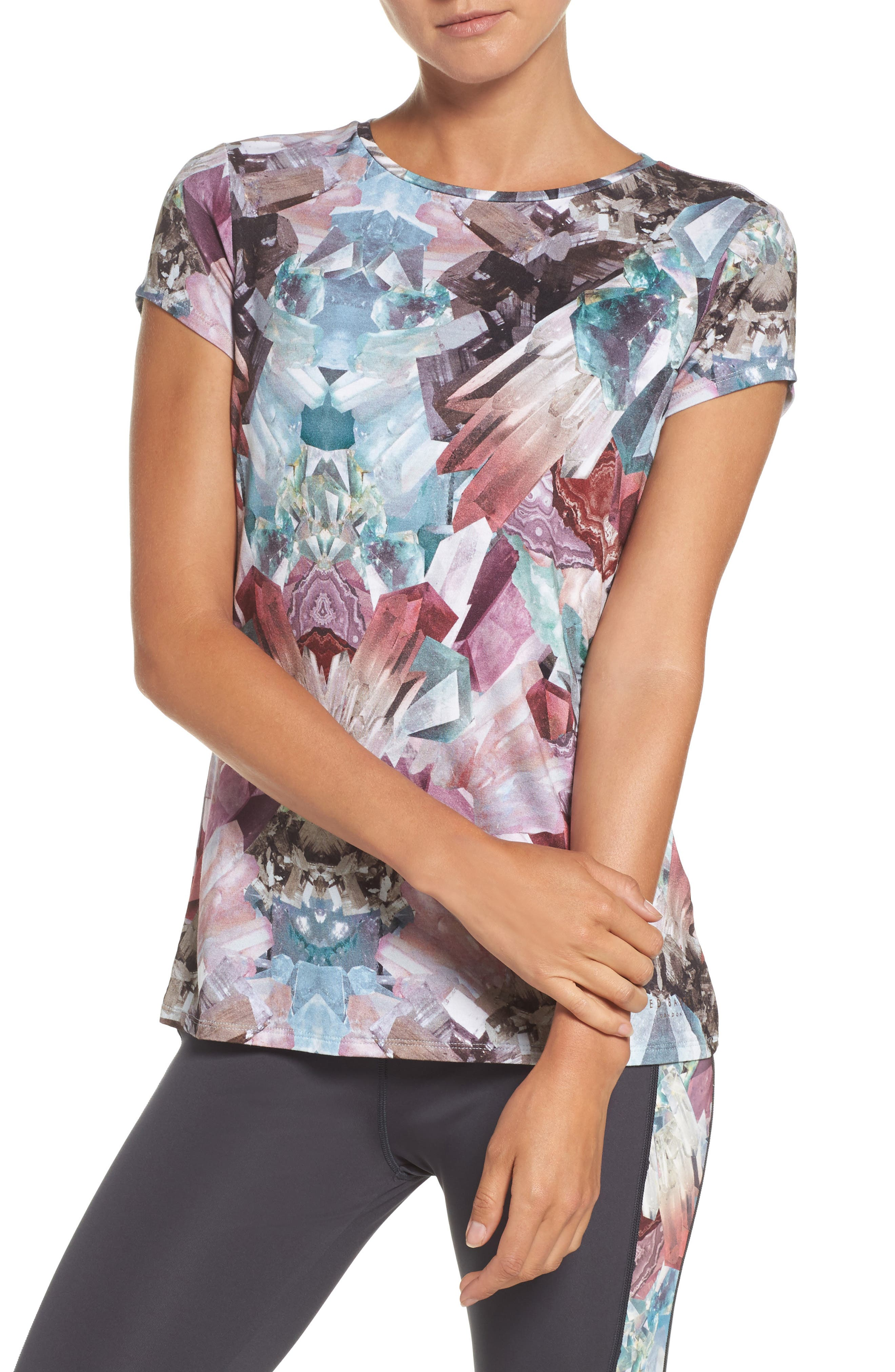 Alternate Image 1 Selected - Ted Baker London Minerals Tee