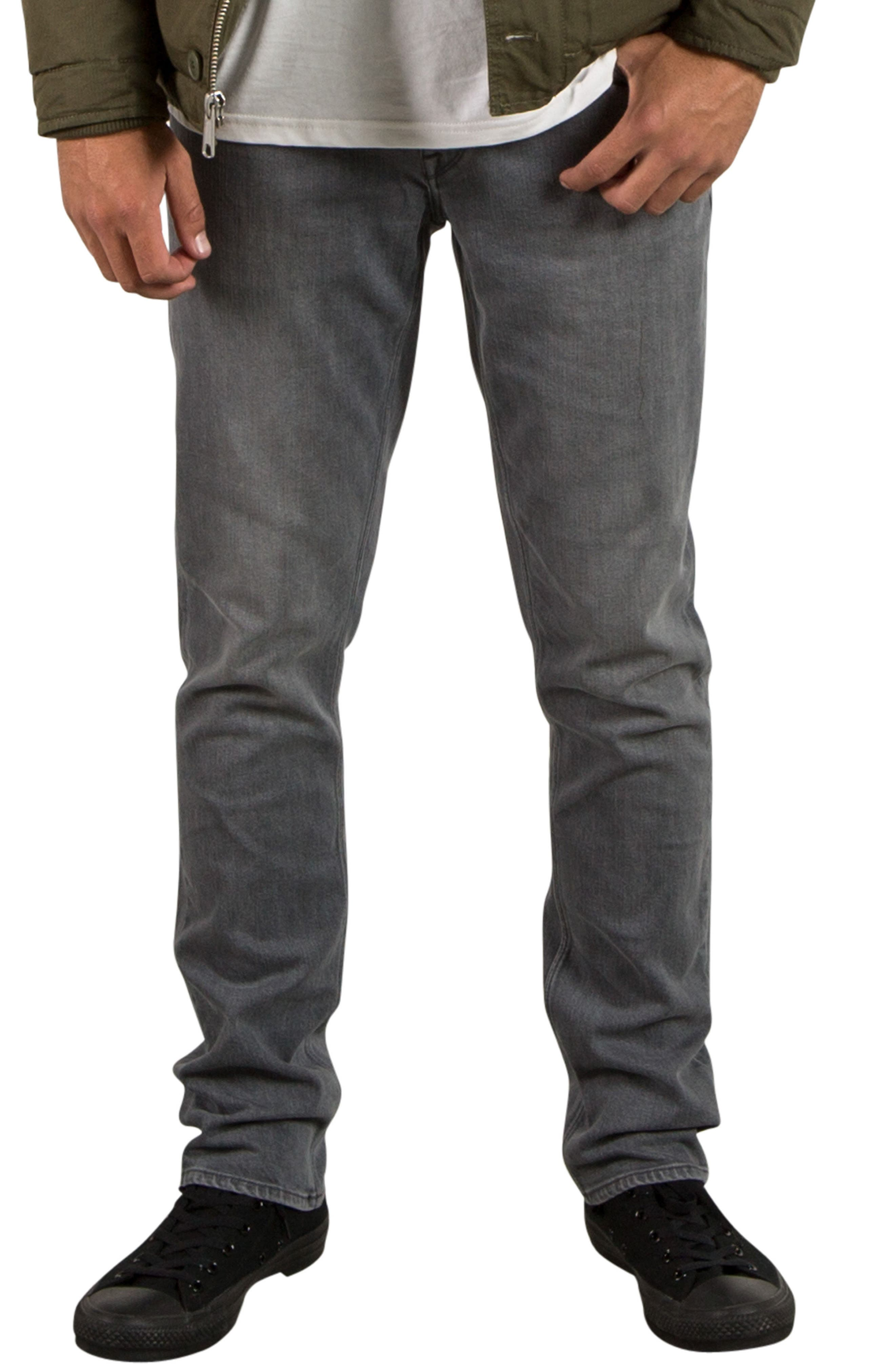 Alternate Image 1 Selected - Volcom Vorta Slim Fit Jeans