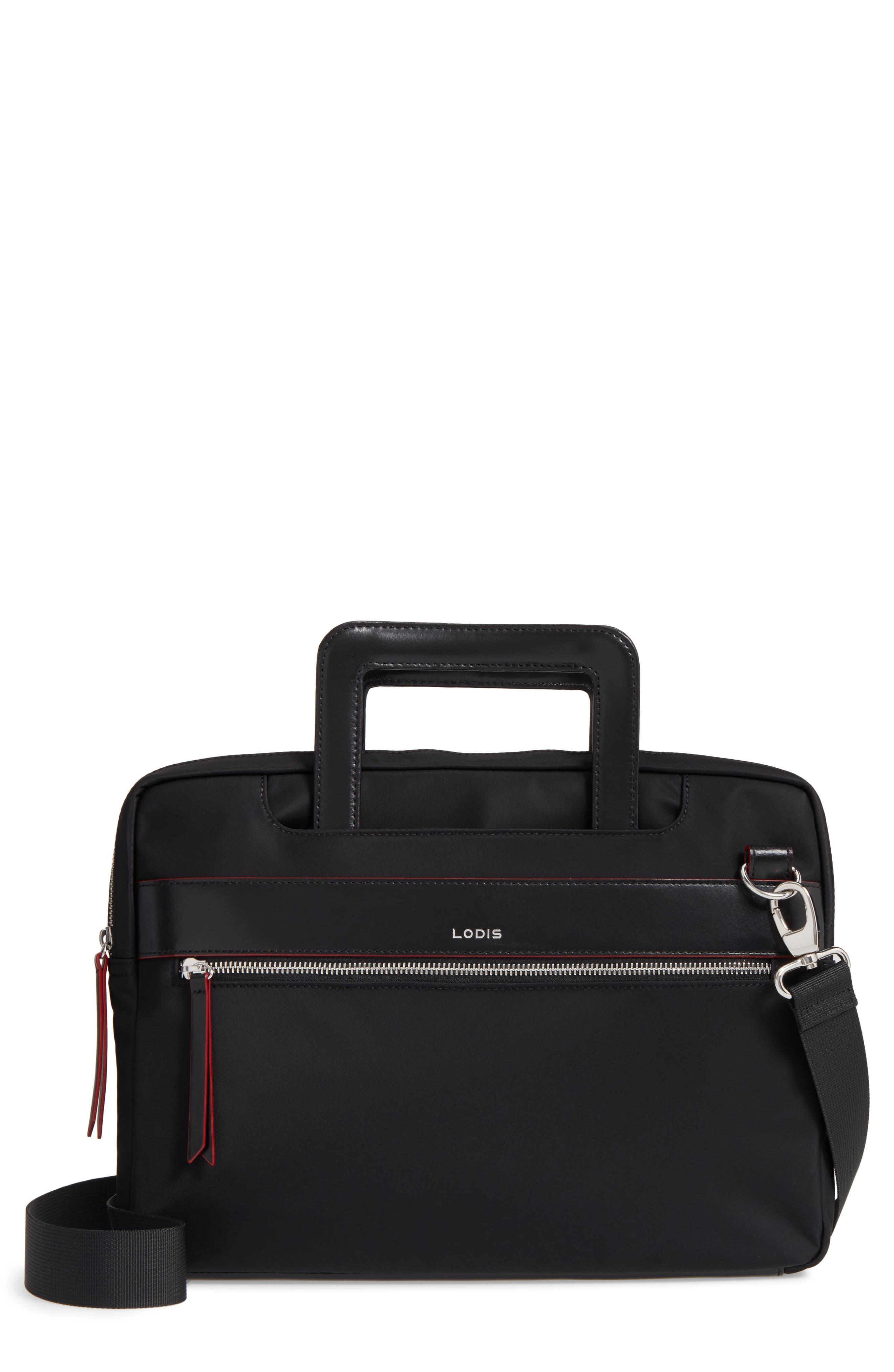 Main Image - Lodis Kate Under Lock & Key Cora Laptop Crossbody Bag