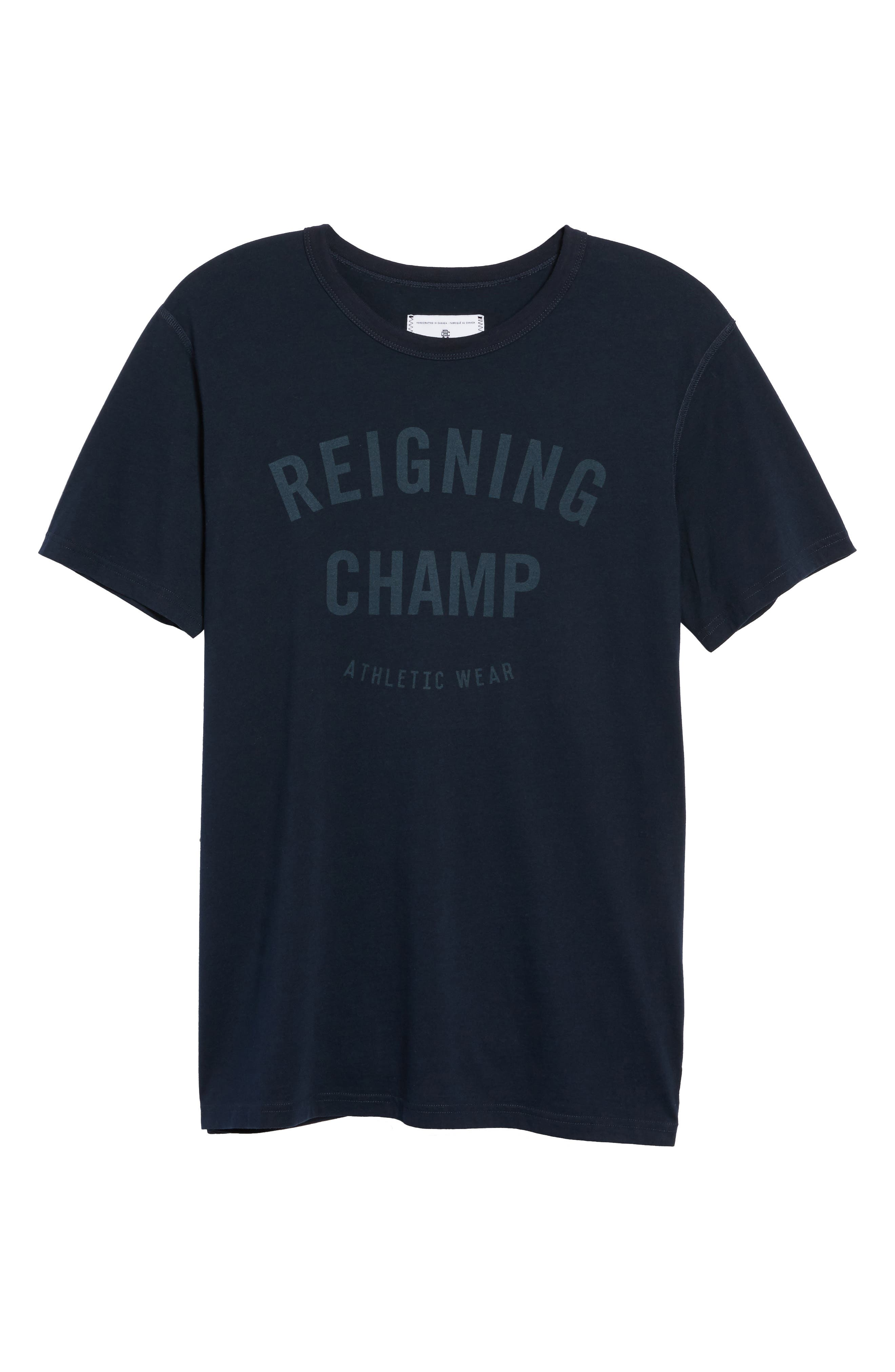 Alternate Image 6  - Reigning Champ 'Gym Logo' Graphic T-Shirt