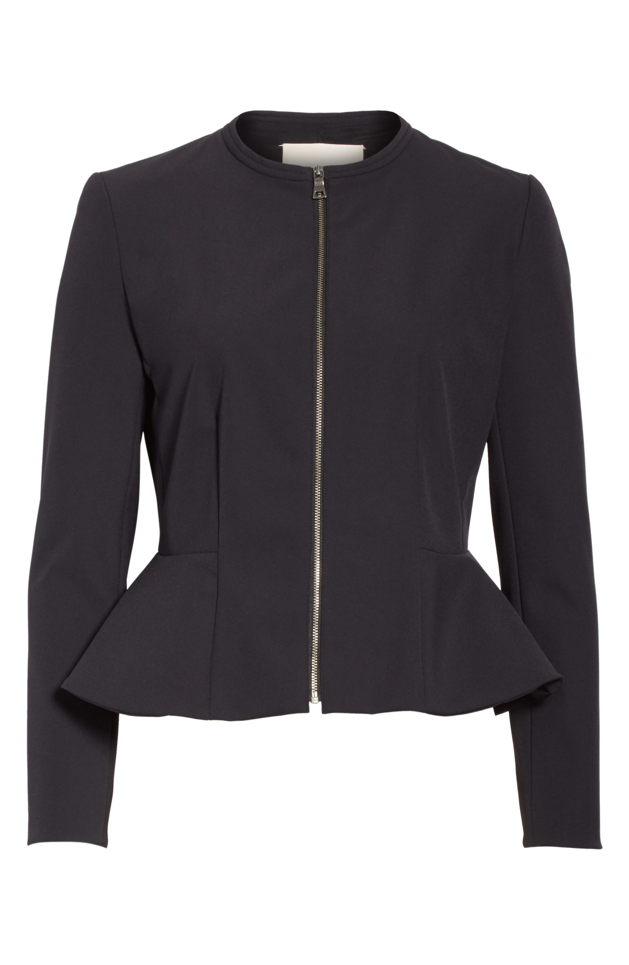 Alternate Image 6  - Rebecca Taylor Ava Peplum Jacket