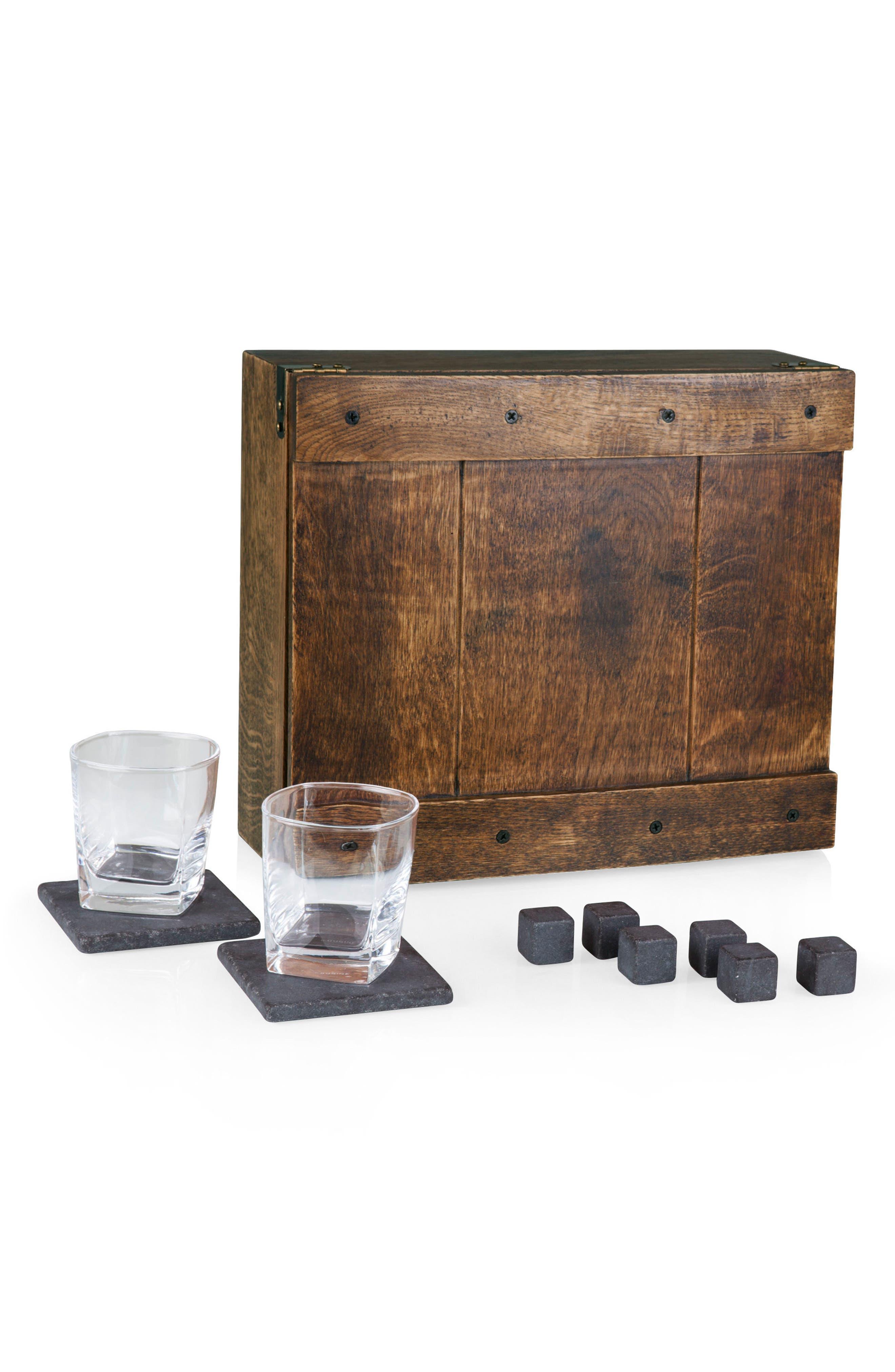 Picnic Time 11-Piece Whiskey Box Gift Set