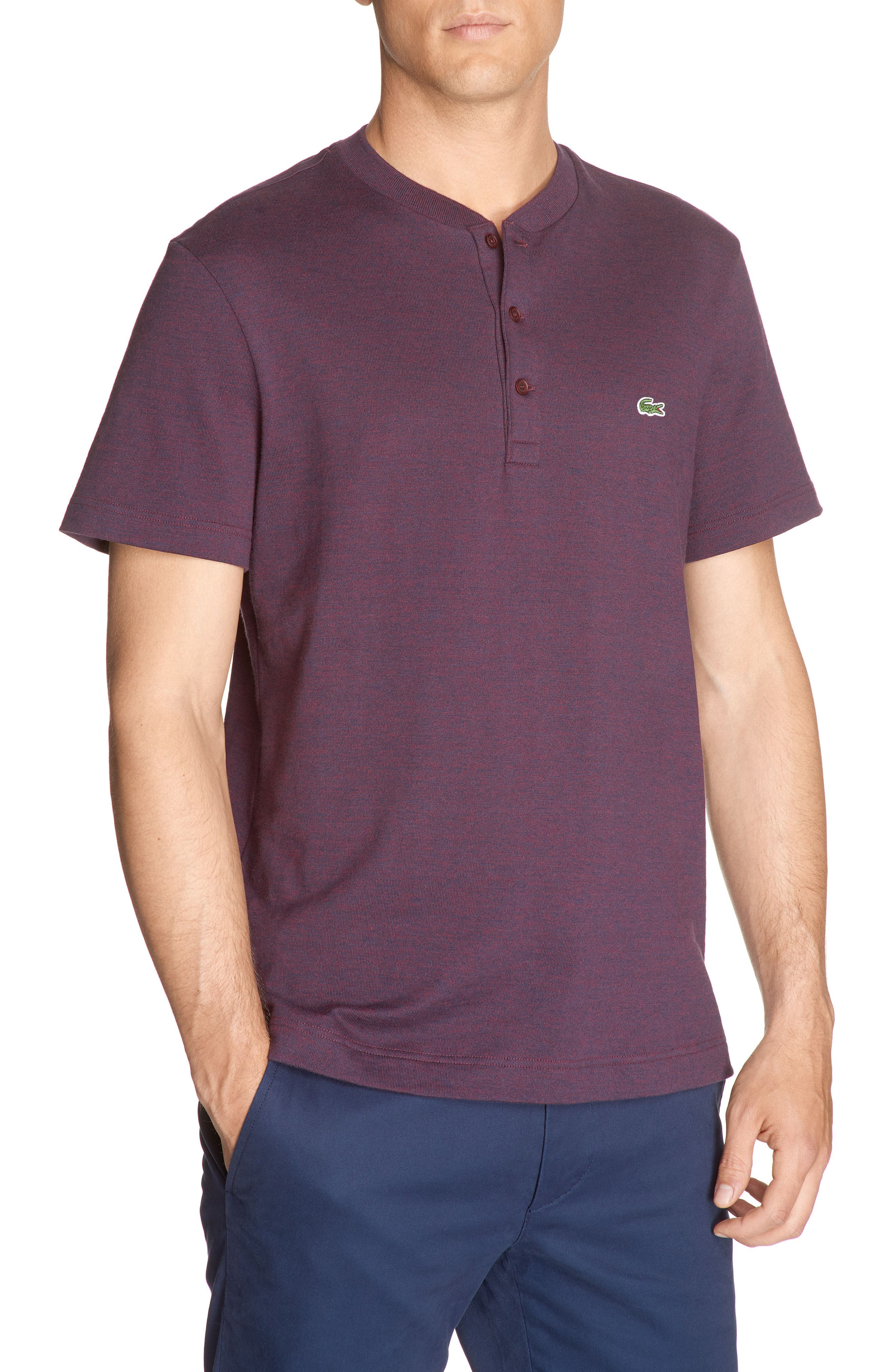 Alternate Image 1 Selected - Lacoste Henley T-Shirt
