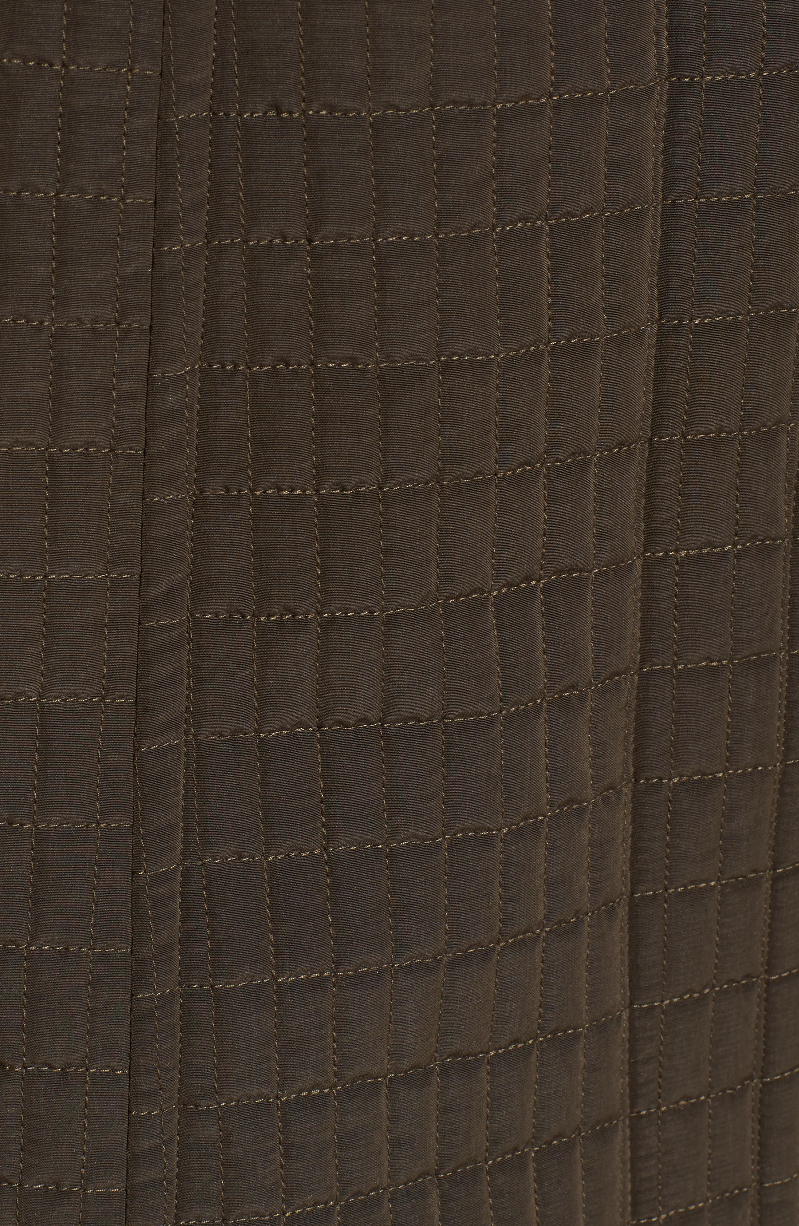 Quilted Jacket,                             Alternate thumbnail 5, color,                             Fatigue