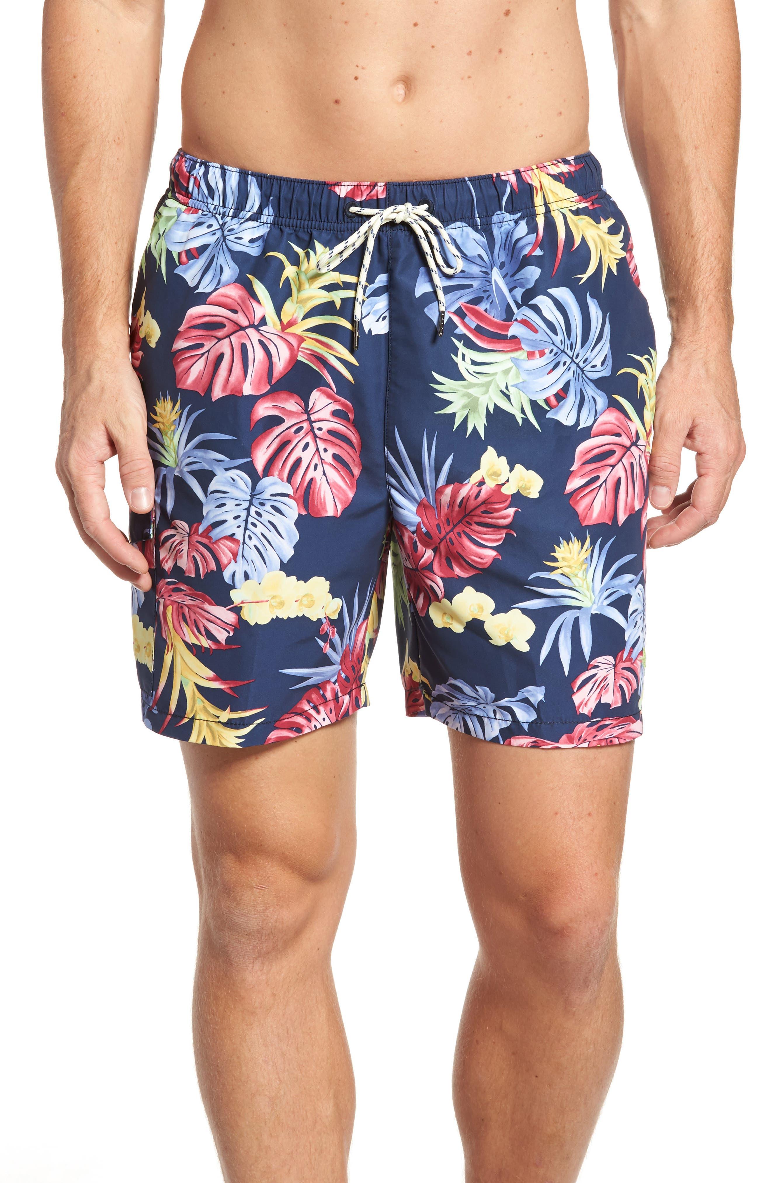 Tommy Bahama Naples Bogart Blooms Swim Trunks