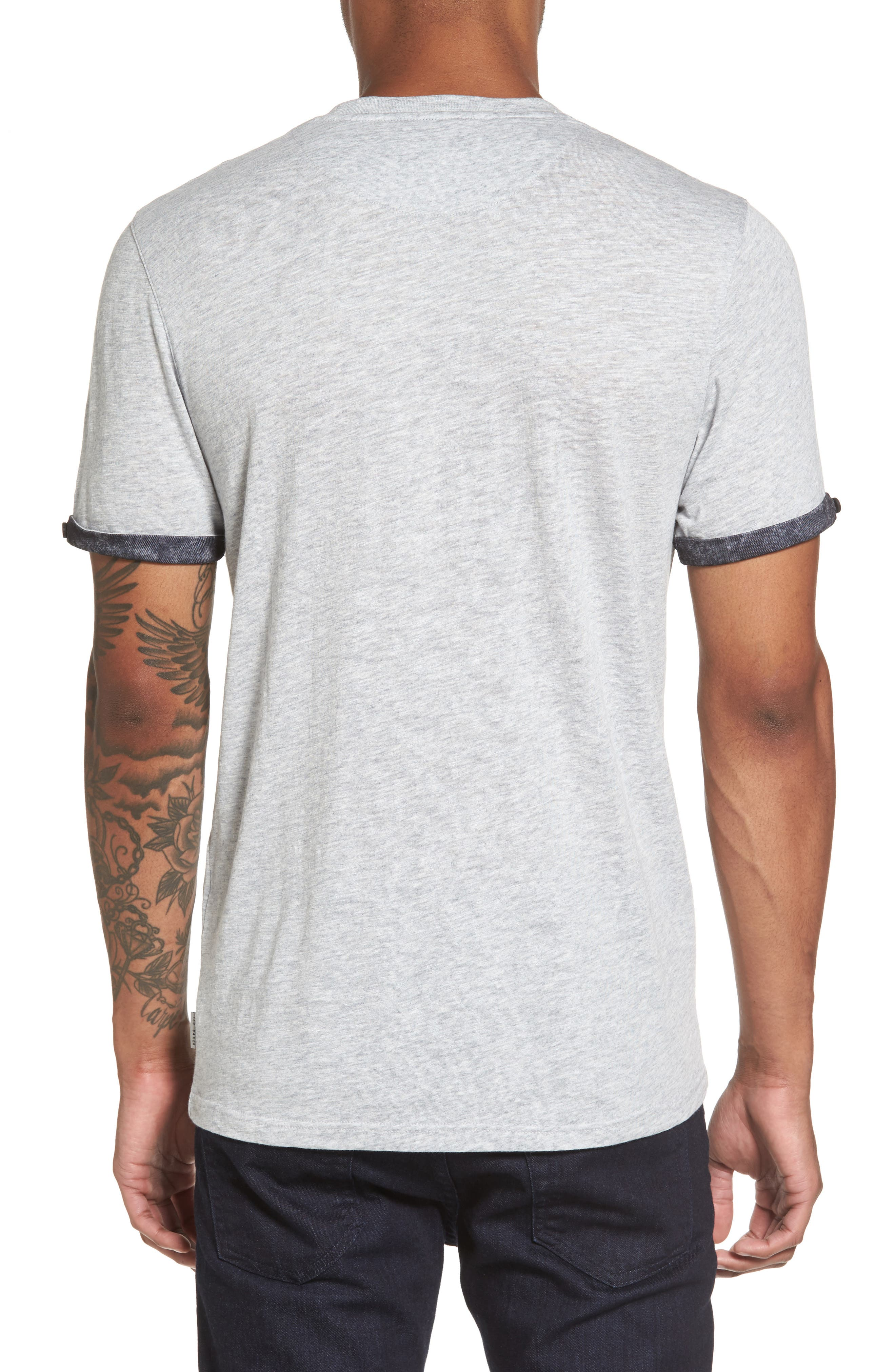 Alternate Image 2  - Ted Baker London Samsal Pocket T-Shirt
