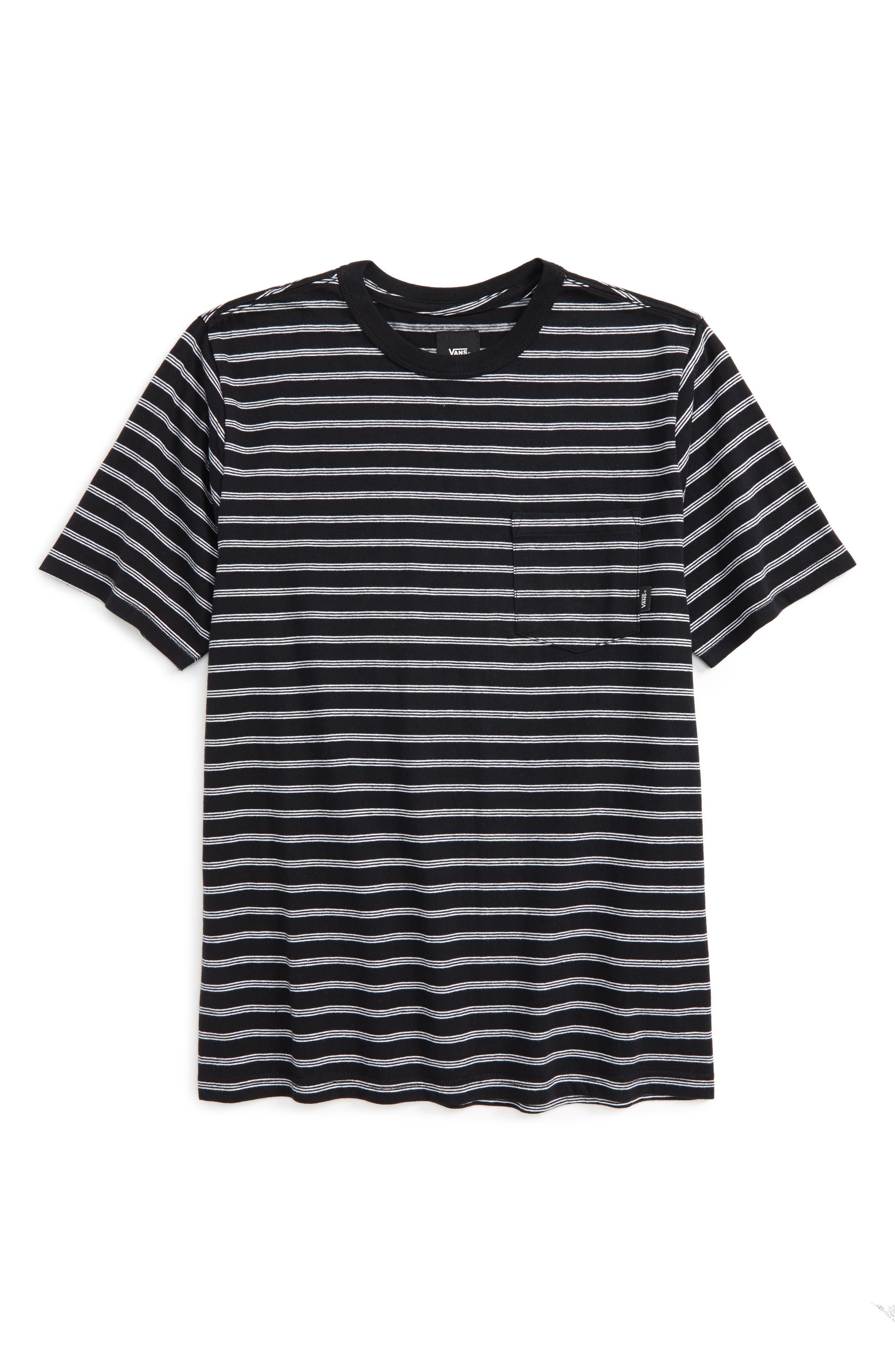 Vans Lined Up Knit T-Shirt (Big Boys)