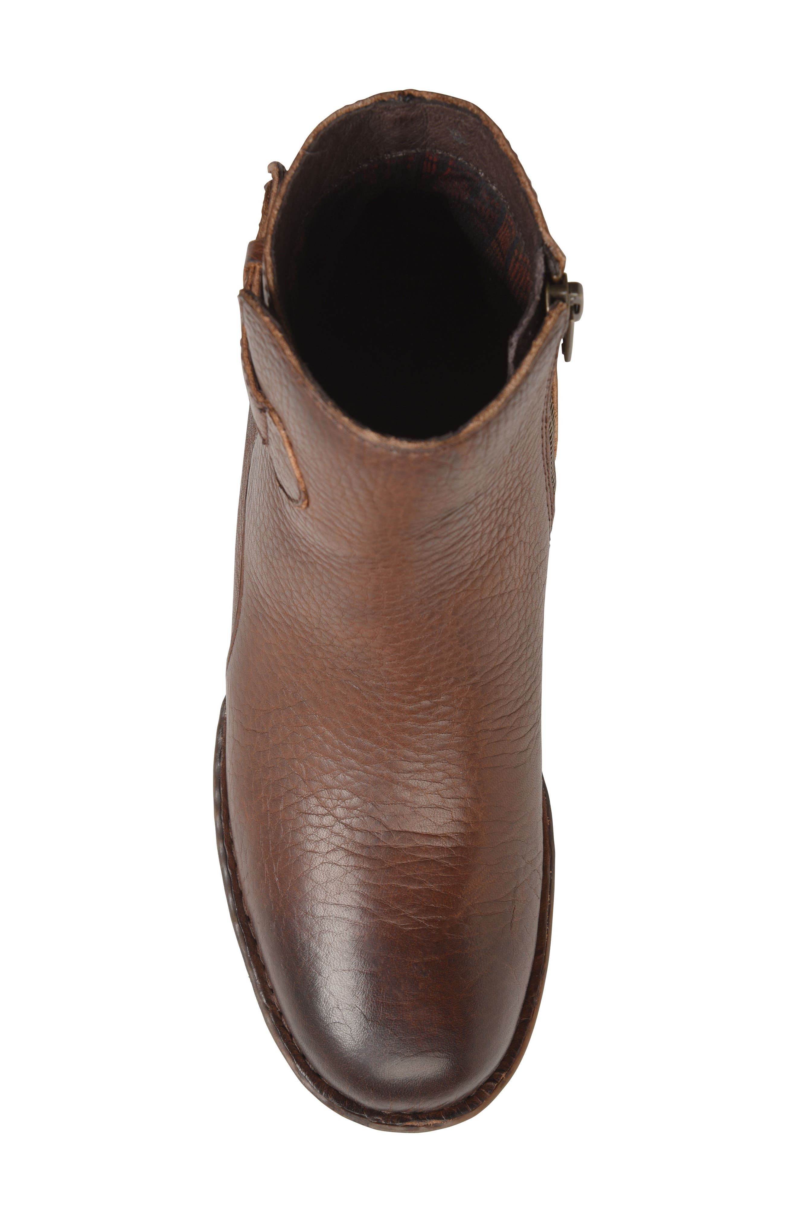 Carbine Bootie,                             Alternate thumbnail 5, color,                             Brown Leather