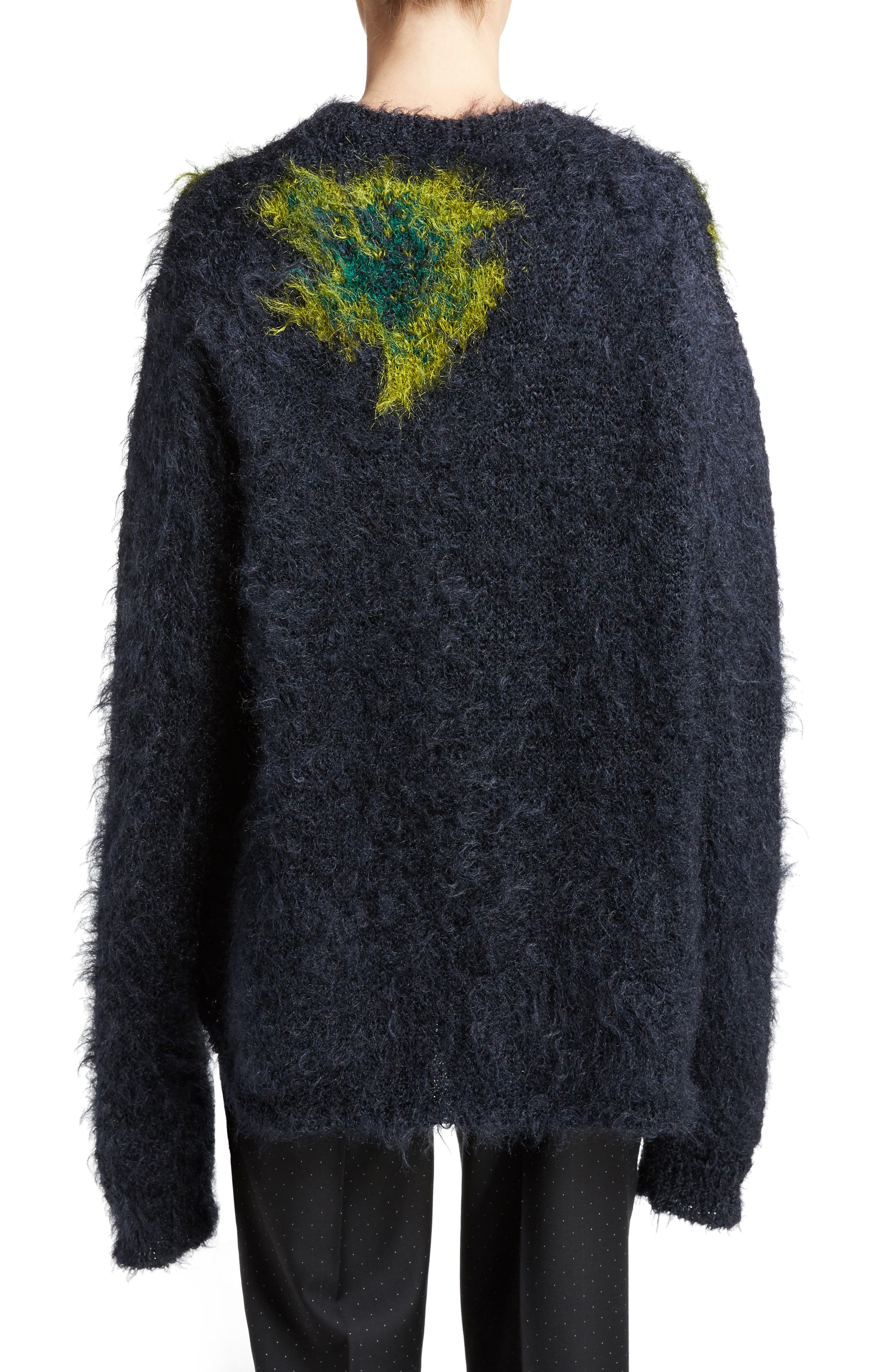 Alternate Image 2  - ACNE Studios Fhira Hairy Oversize Sweater