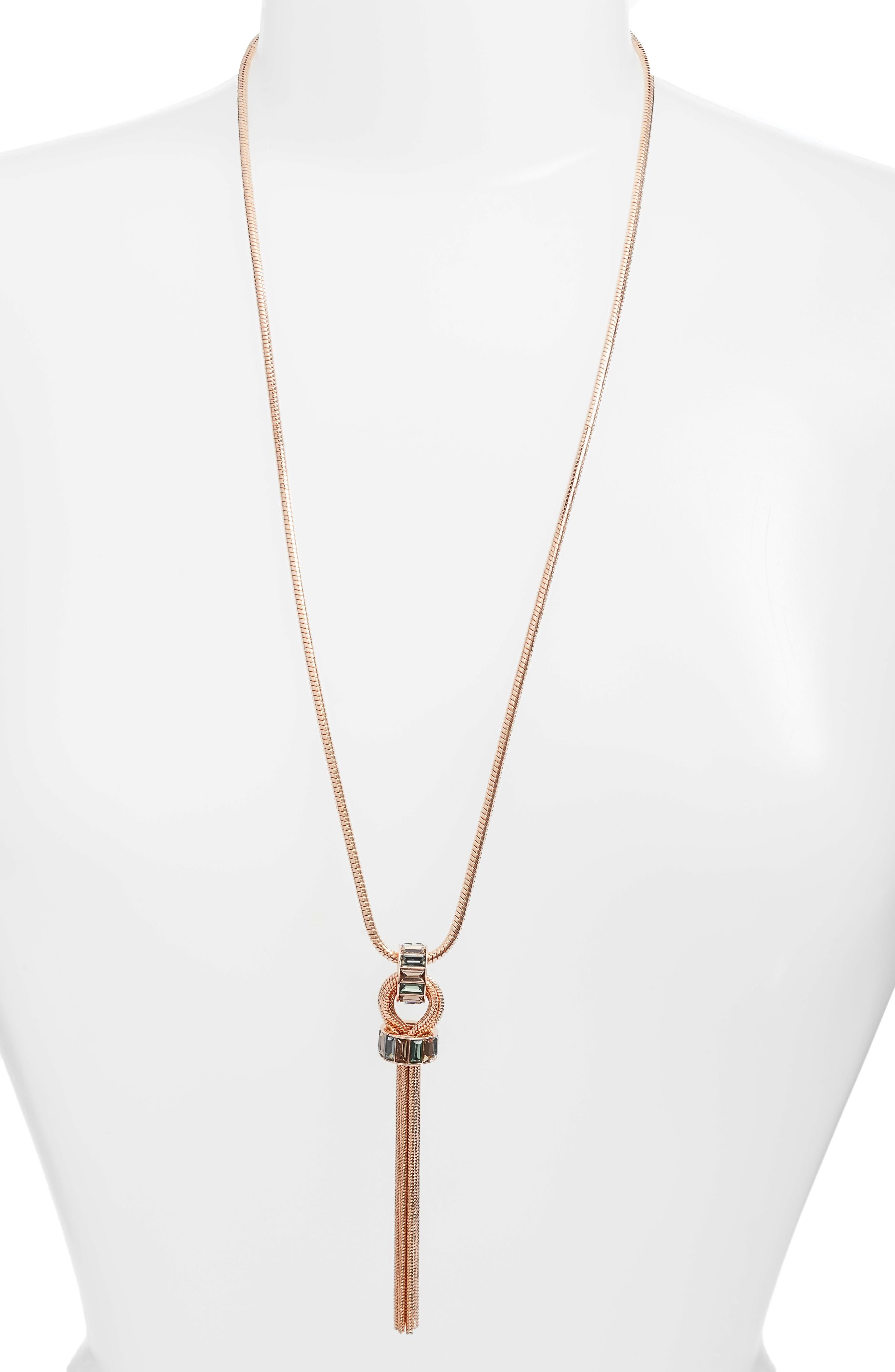 Vince Camuto Tassel Necklace
