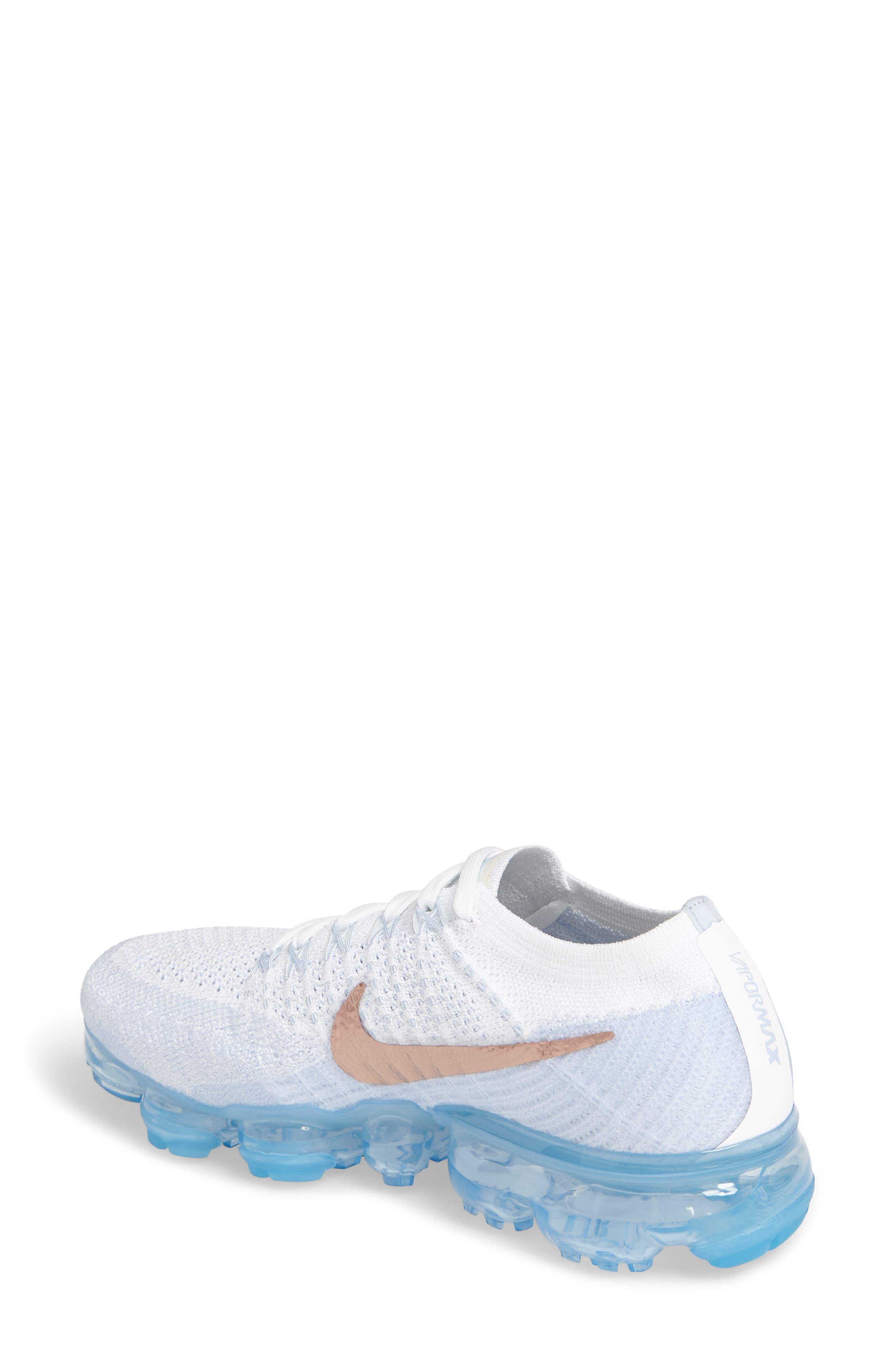 Alternate Image 2  - Nike Air VaporMax Flyknit Running Shoe (Women)