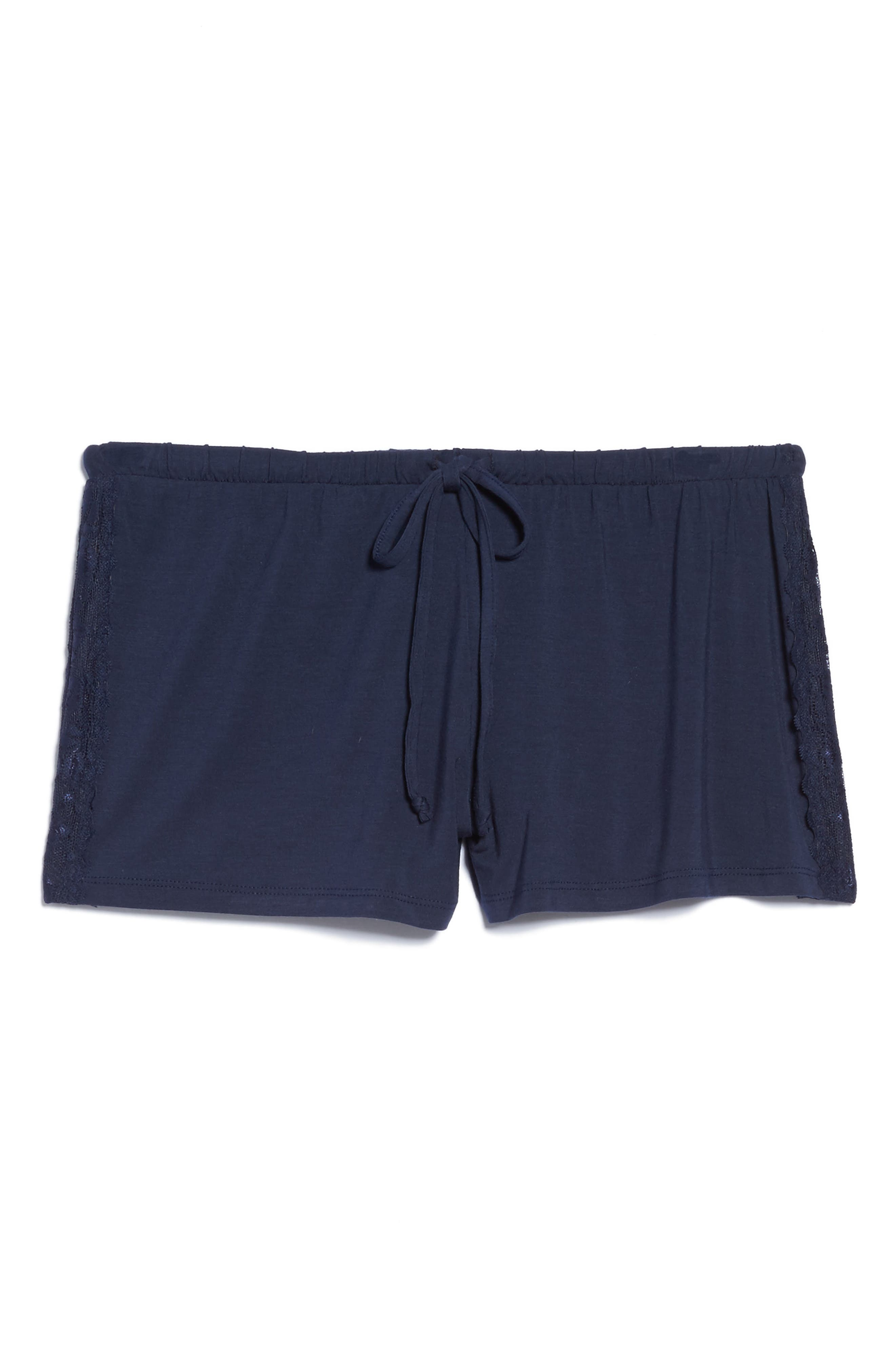 Lounge Shorts,                             Alternate thumbnail 4, color,                             Navy