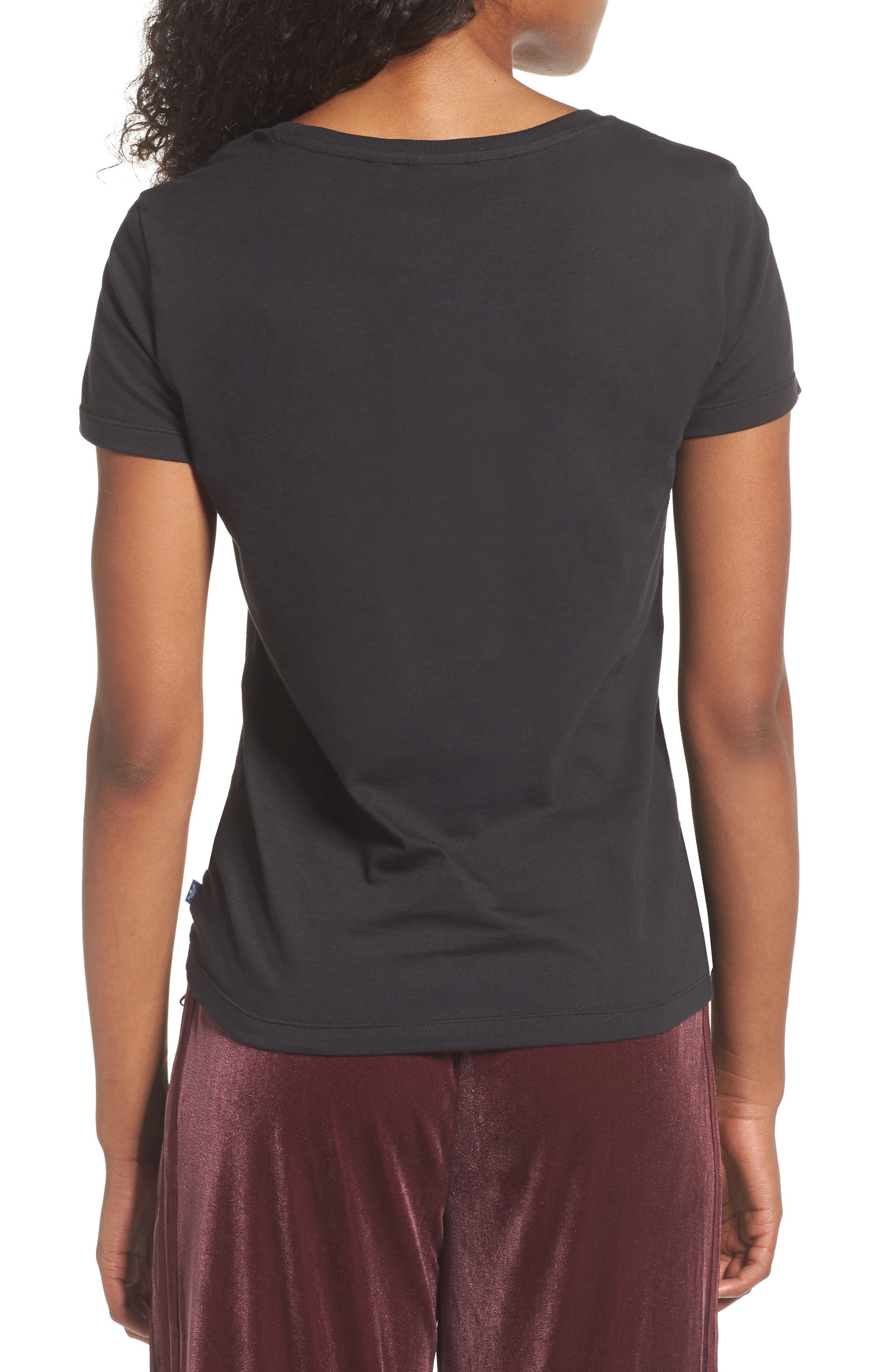 Alternate Image 2  - adidas Originals Trefoil Jersey Tee