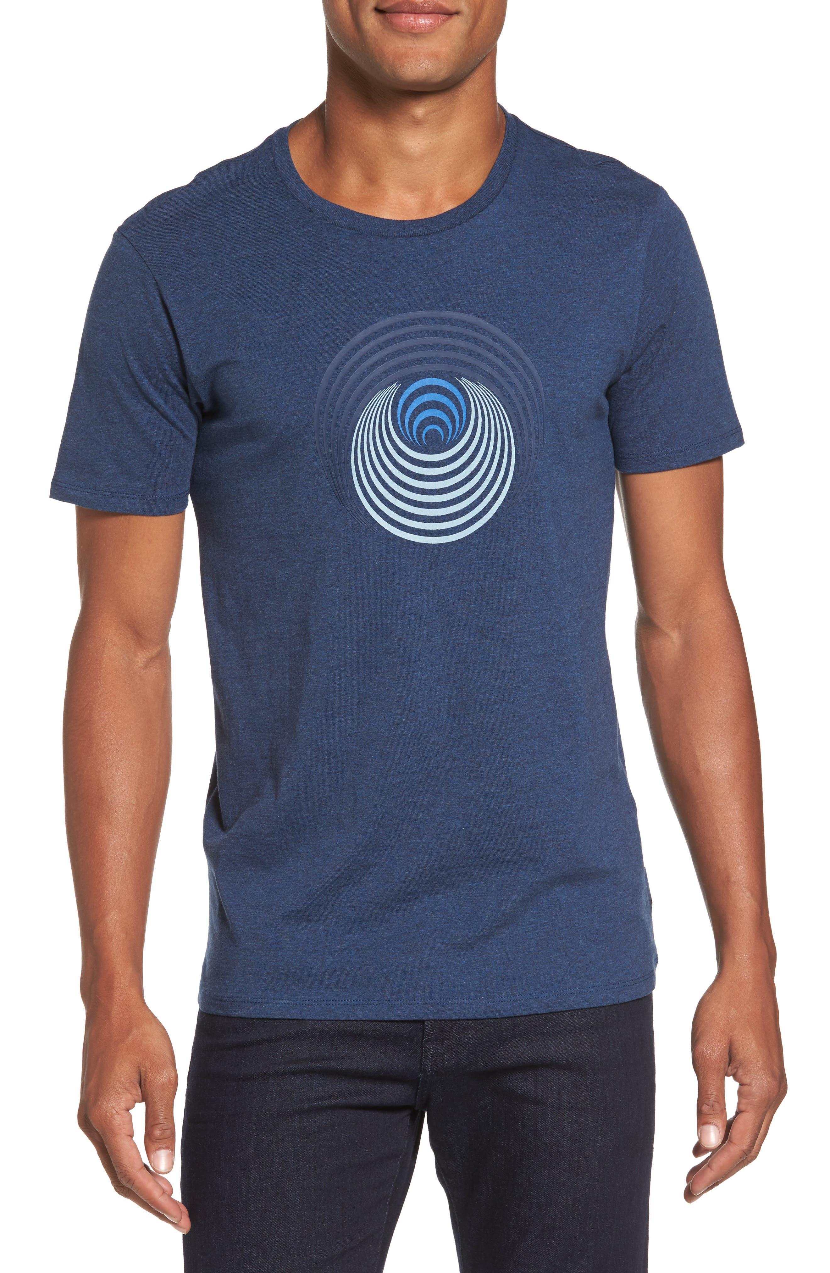 Optical Target T-Shirt,                             Main thumbnail 1, color,                             Blue