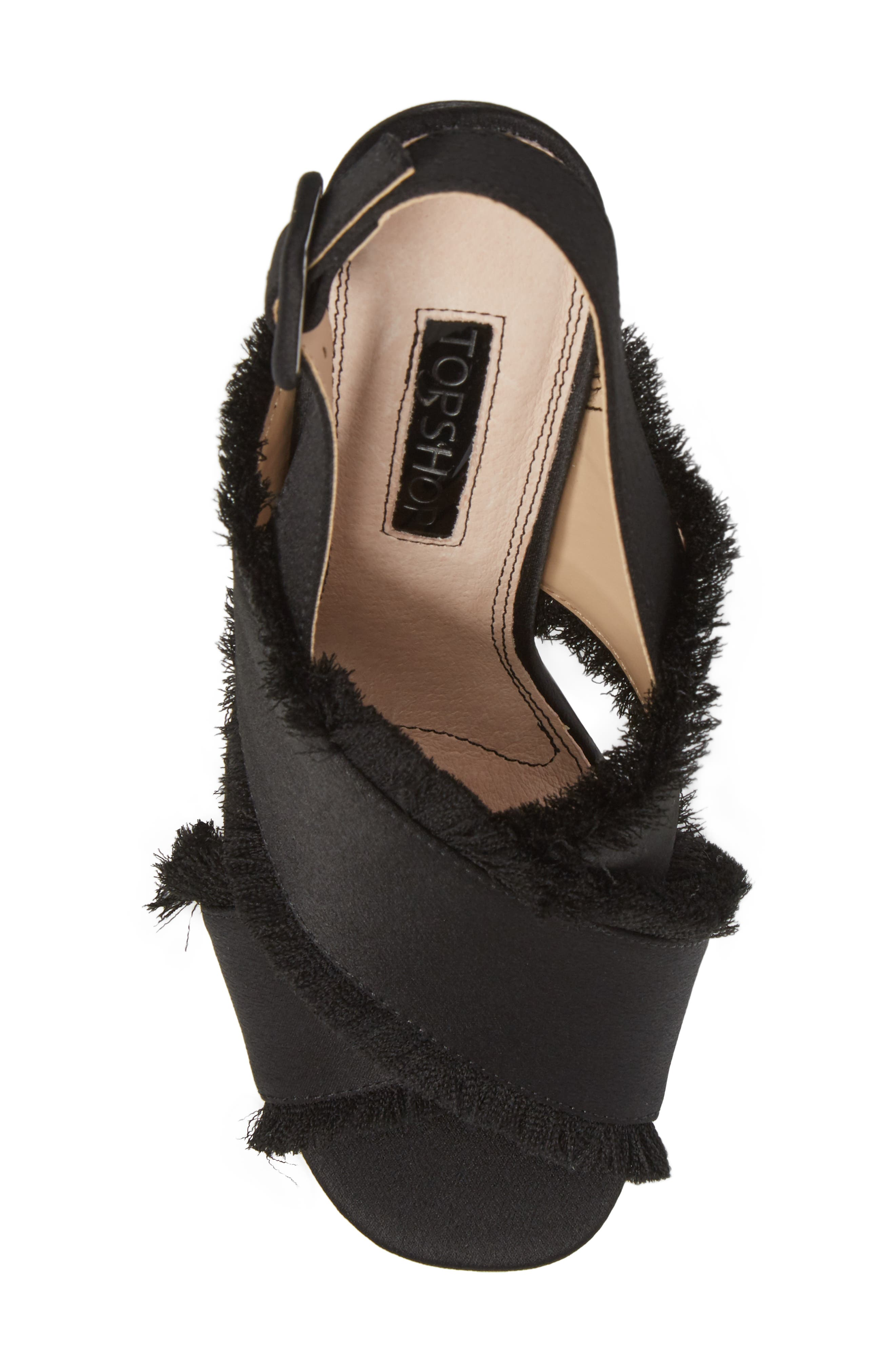 Alternate Image 4  - Topshop Reef Fringe Sandal (Women)