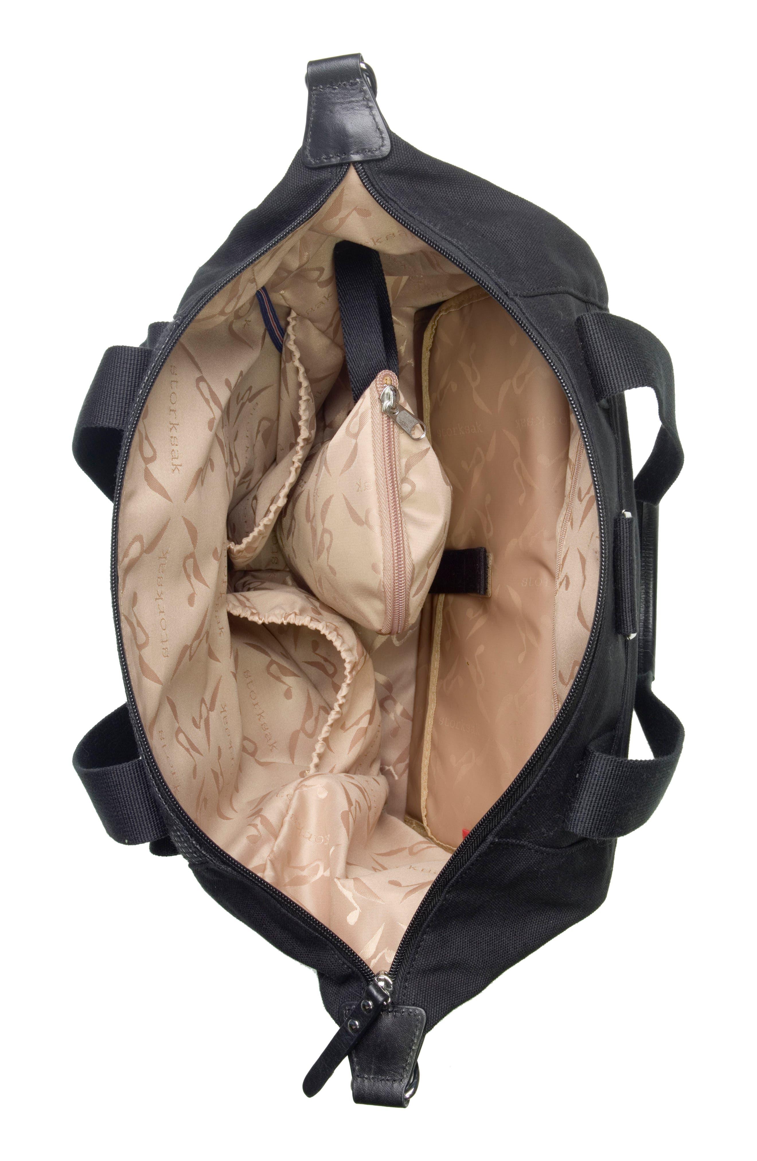 Alternate Image 6  - Storksak Jude Convertible Diaper Bag