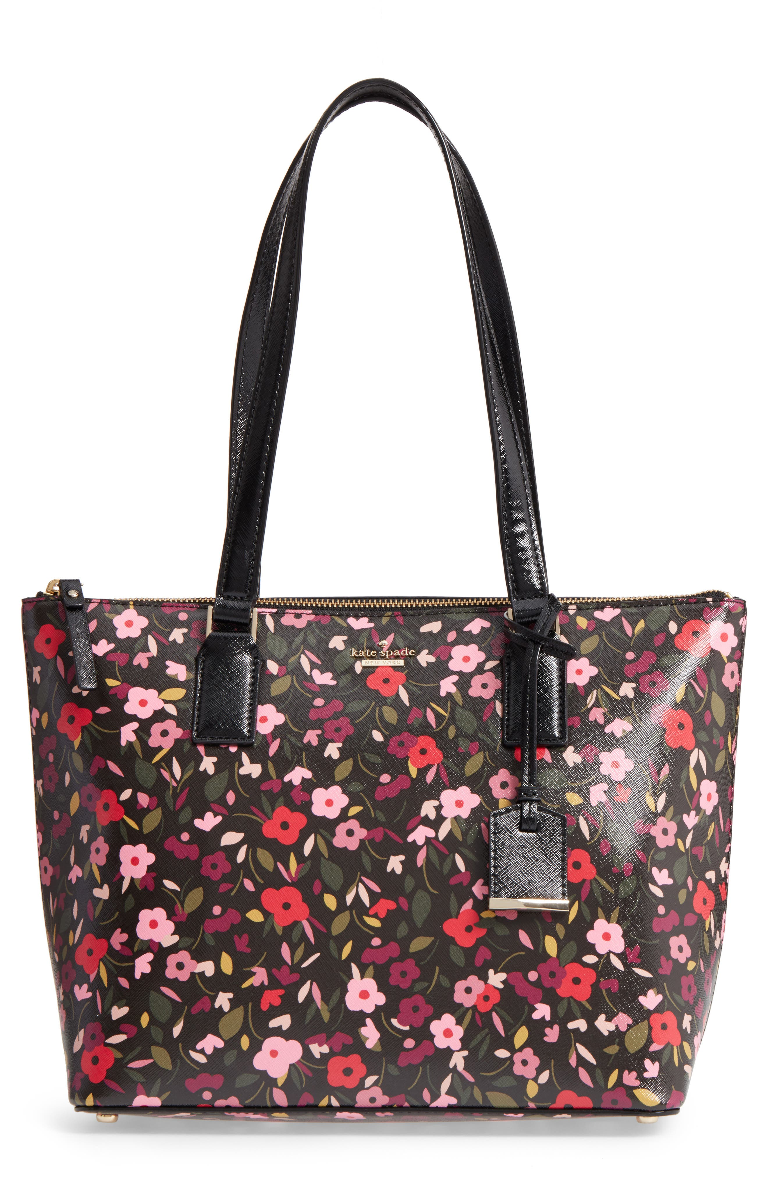 Main Image - kate spade new york cameron street - small lucie faux leather tote