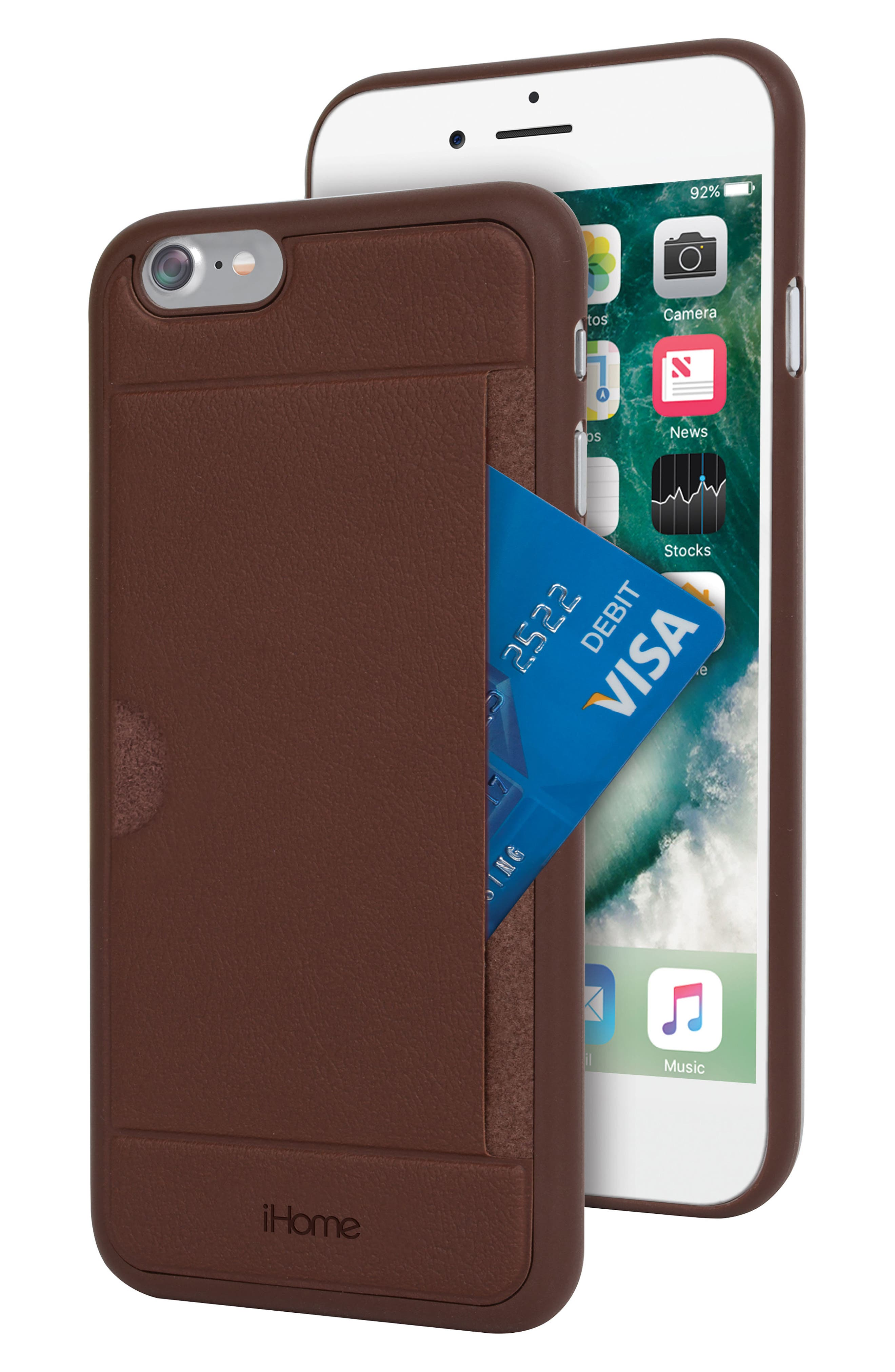 Main Image - iHome iPhone 7/8 Card Case