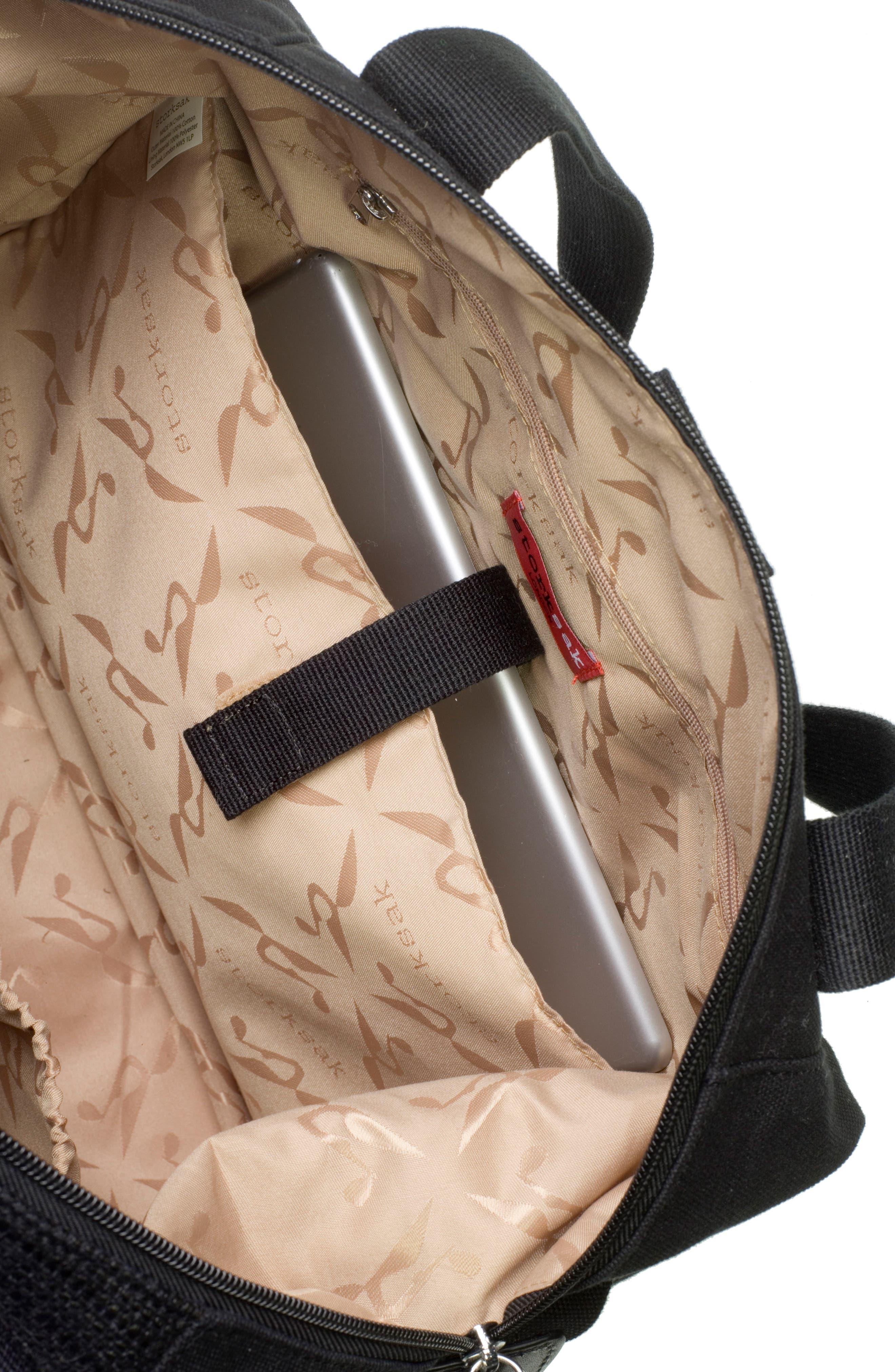 Jude Convertible Diaper Bag,                             Alternate thumbnail 8, color,                             Black