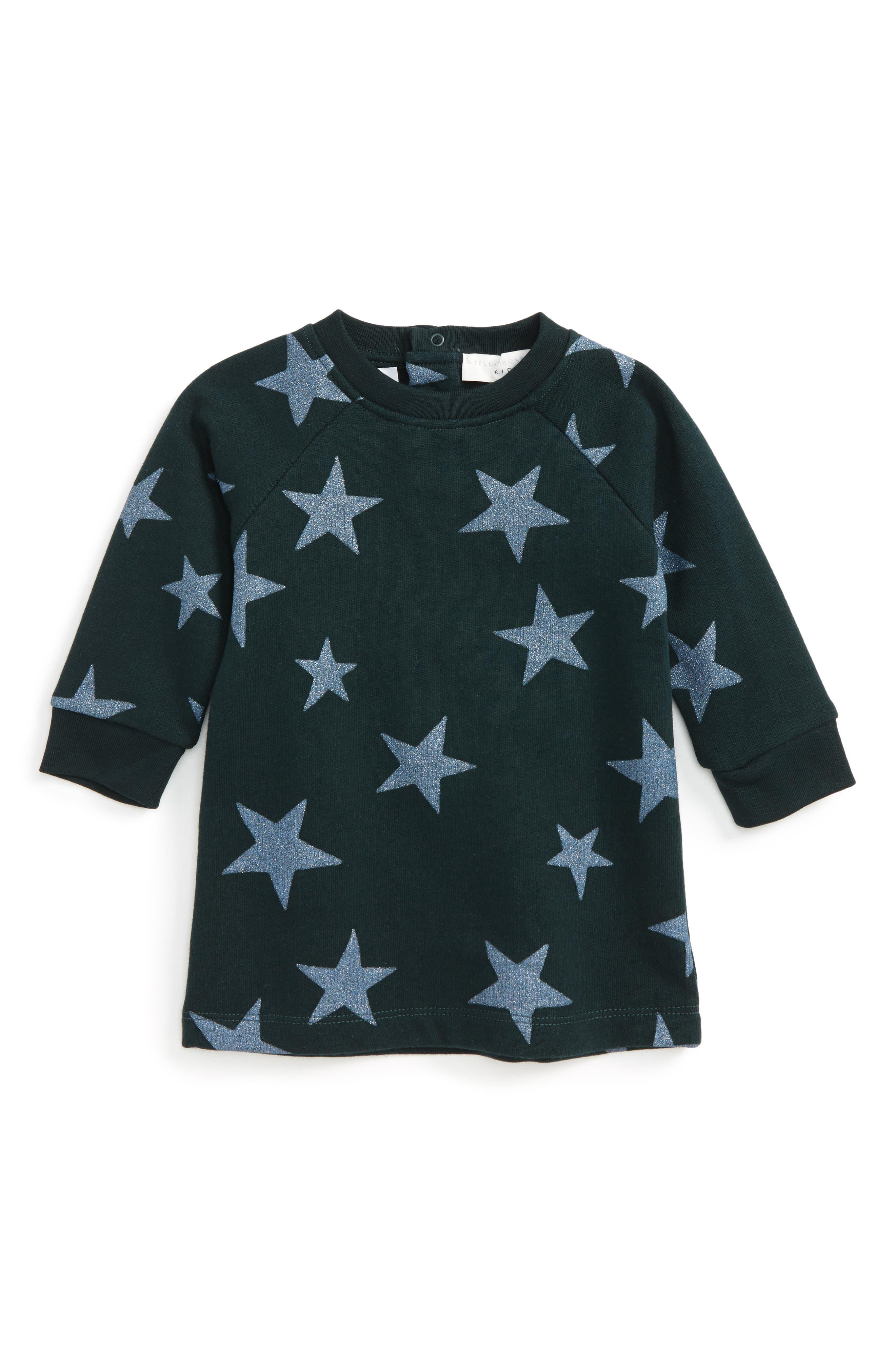 Stella McCartney Kids Leona Star Print Dress (Baby Girls)