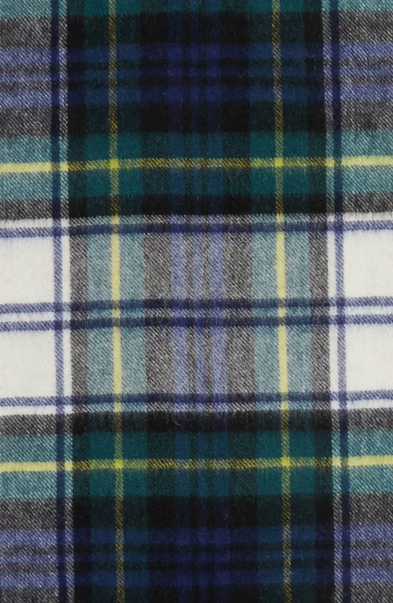 Alternate Image 4  - Barbour 'Shilhope' Plaid Wool Scarf