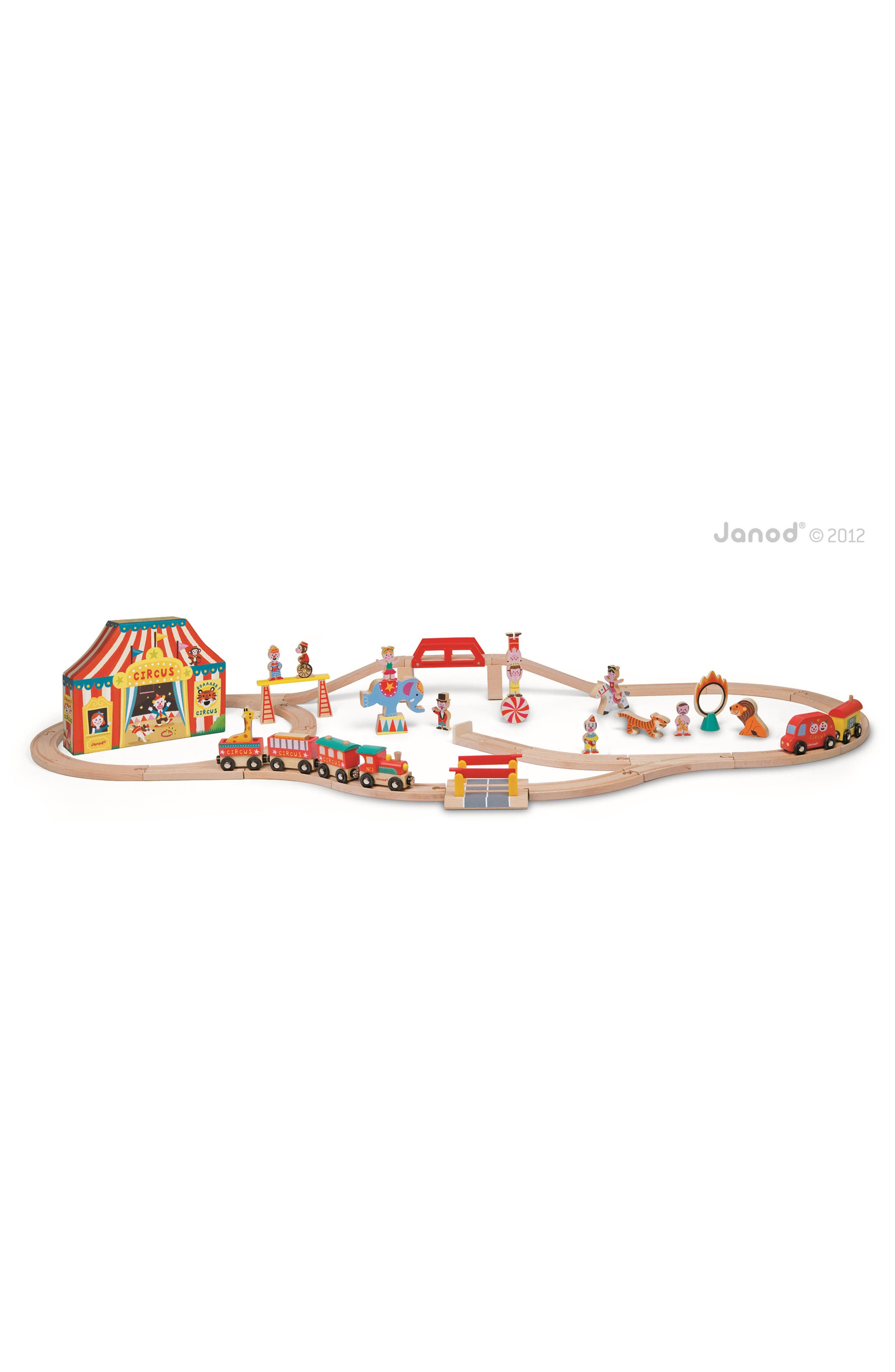 Janod 'Story Express - Circus' Train Set