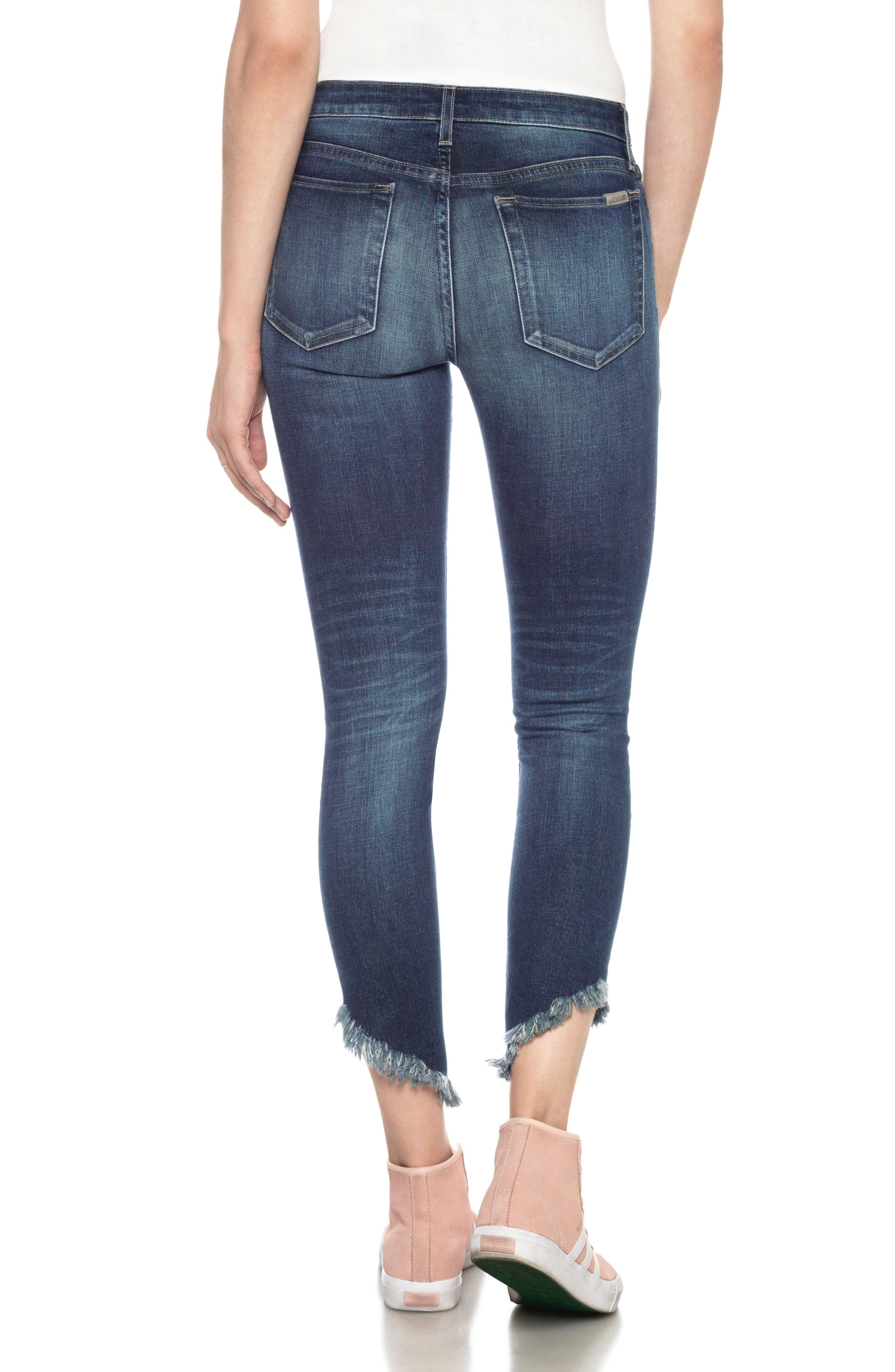 Icon Ankle Skinny Jeans,                             Alternate thumbnail 2, color,                             Jocasta