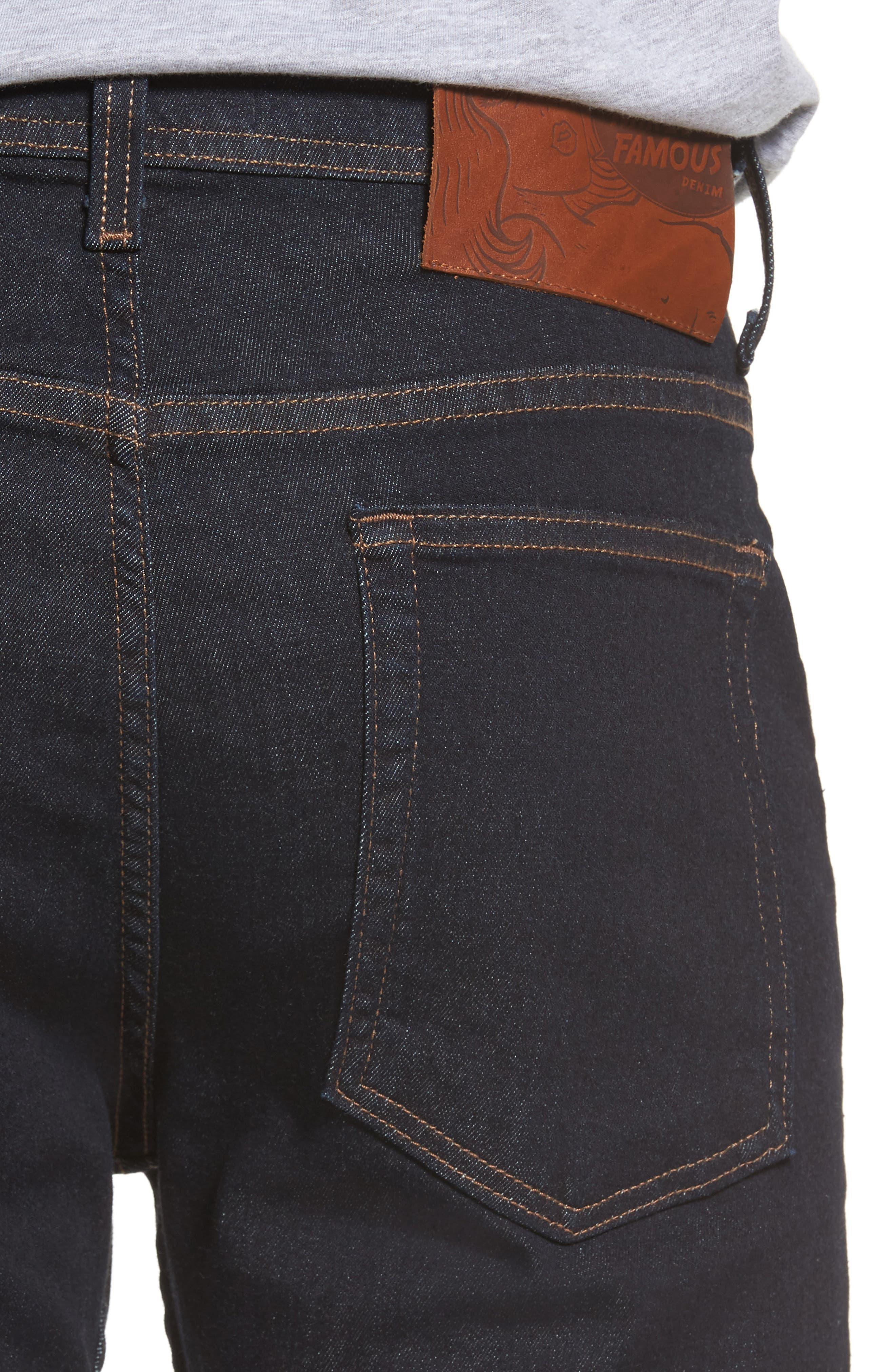 Weird Guy Slim Fit Jeans,                             Alternate thumbnail 4, color,                             Indigo