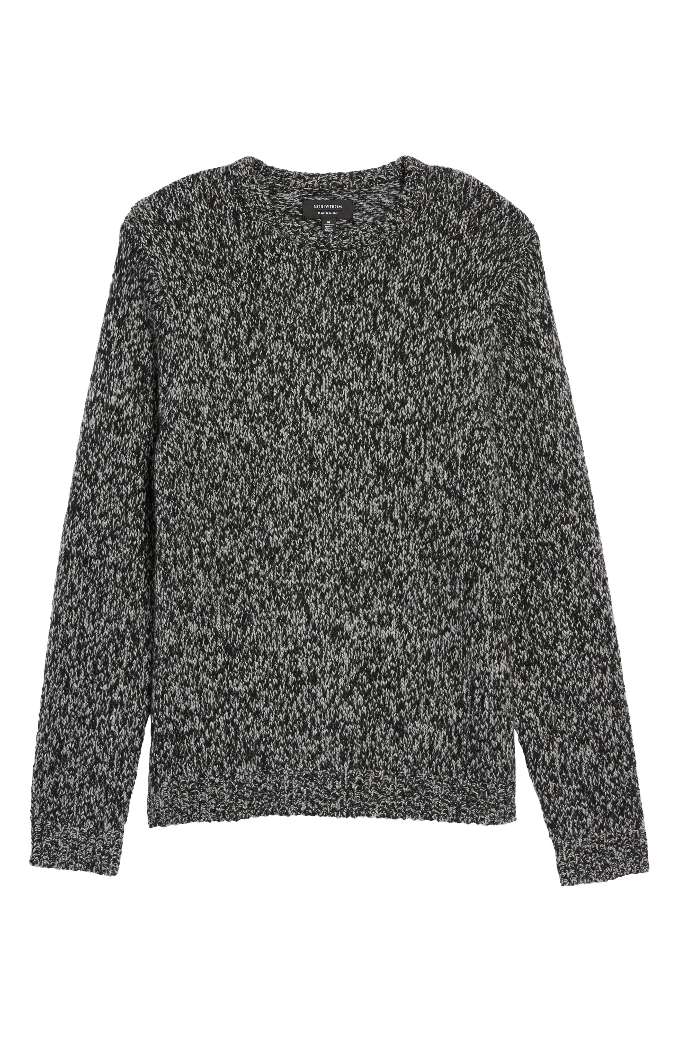 Alternate Image 6  - Nordstrom Men's Shop Marled Yarn Sweater