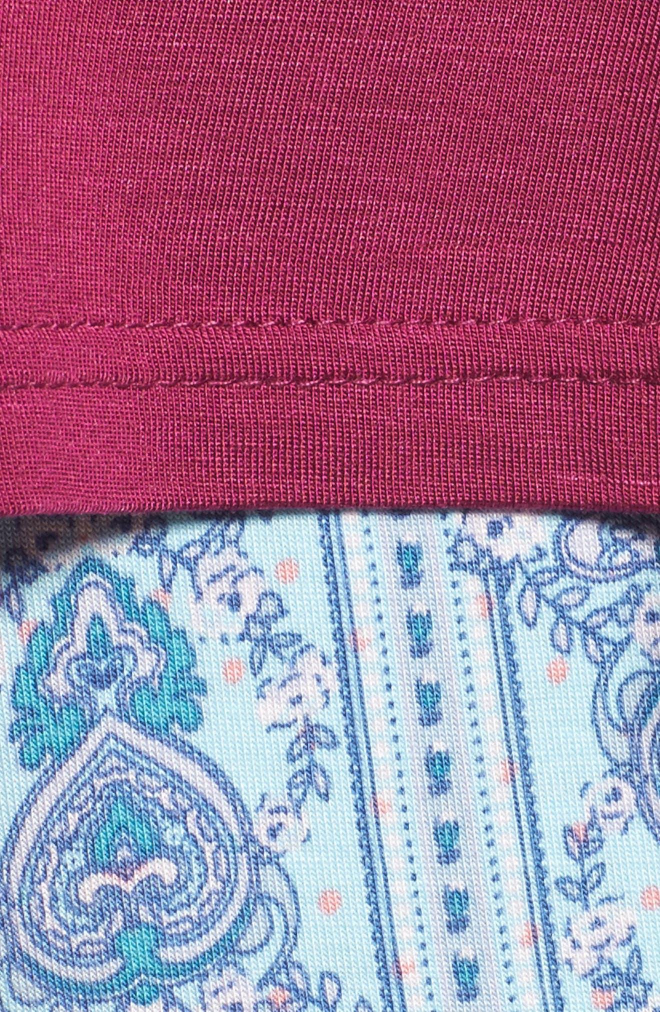 Honeydew Short Pajamas,                             Alternate thumbnail 6, color,                             Tuscany