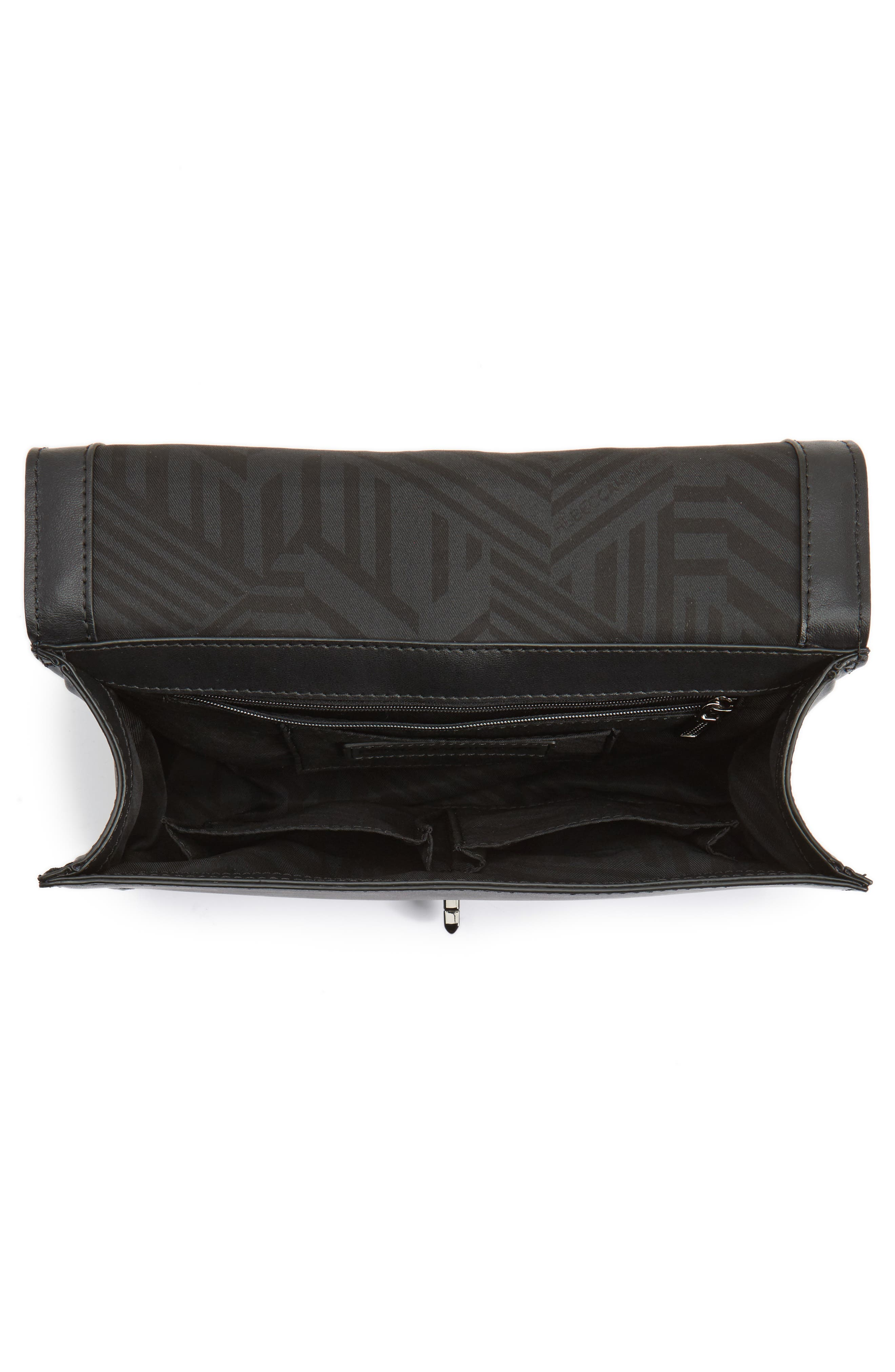Alternate Image 4  - Rebecca Minkoff Love Stripe Quilted Crossbody Bag