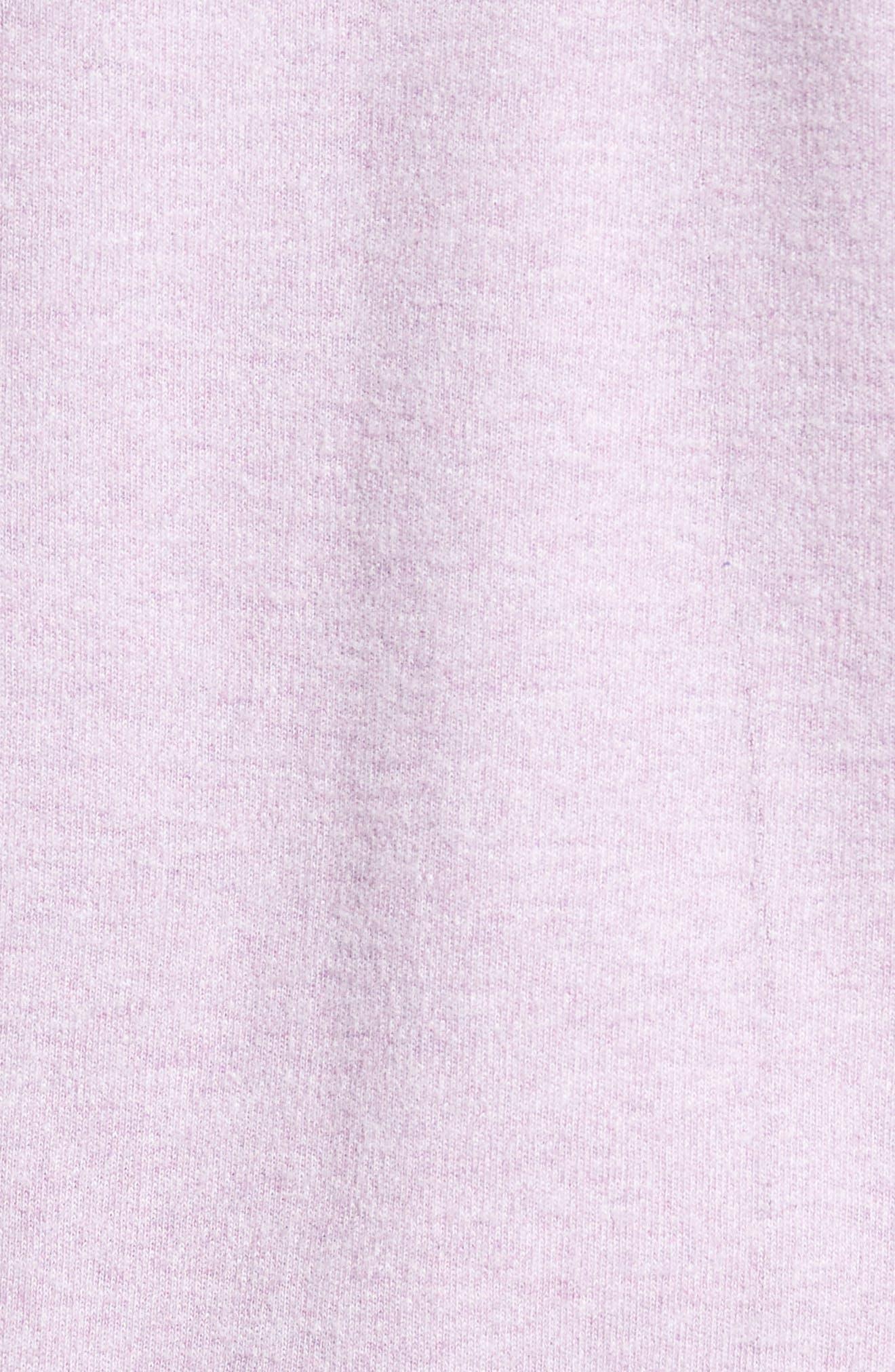 Alternate Image 5  - Peter Millar Mélange Quarter Zip Pullover