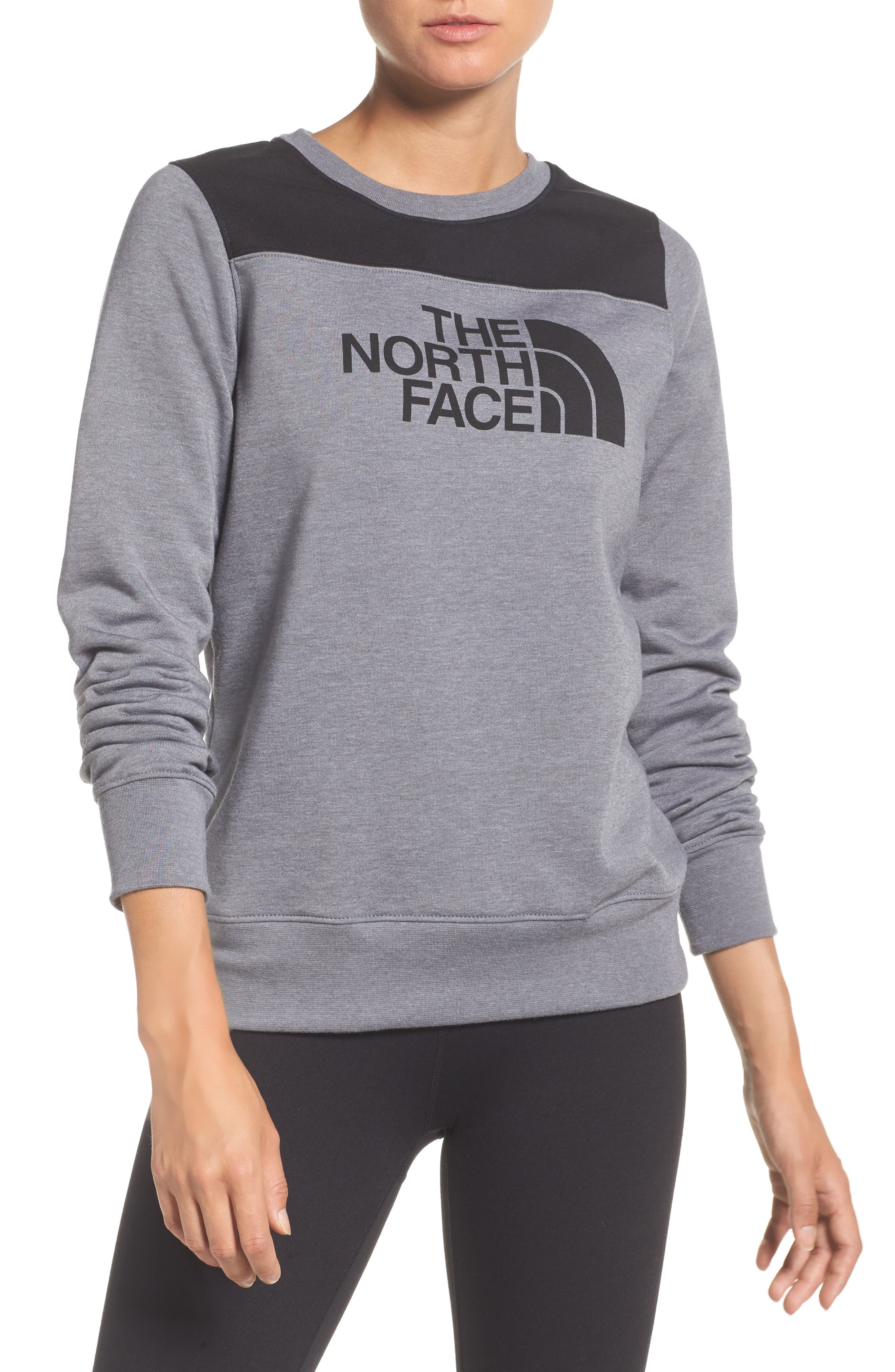 Alternate Image 1 Selected - The North Face Half Dome Sweatshirt
