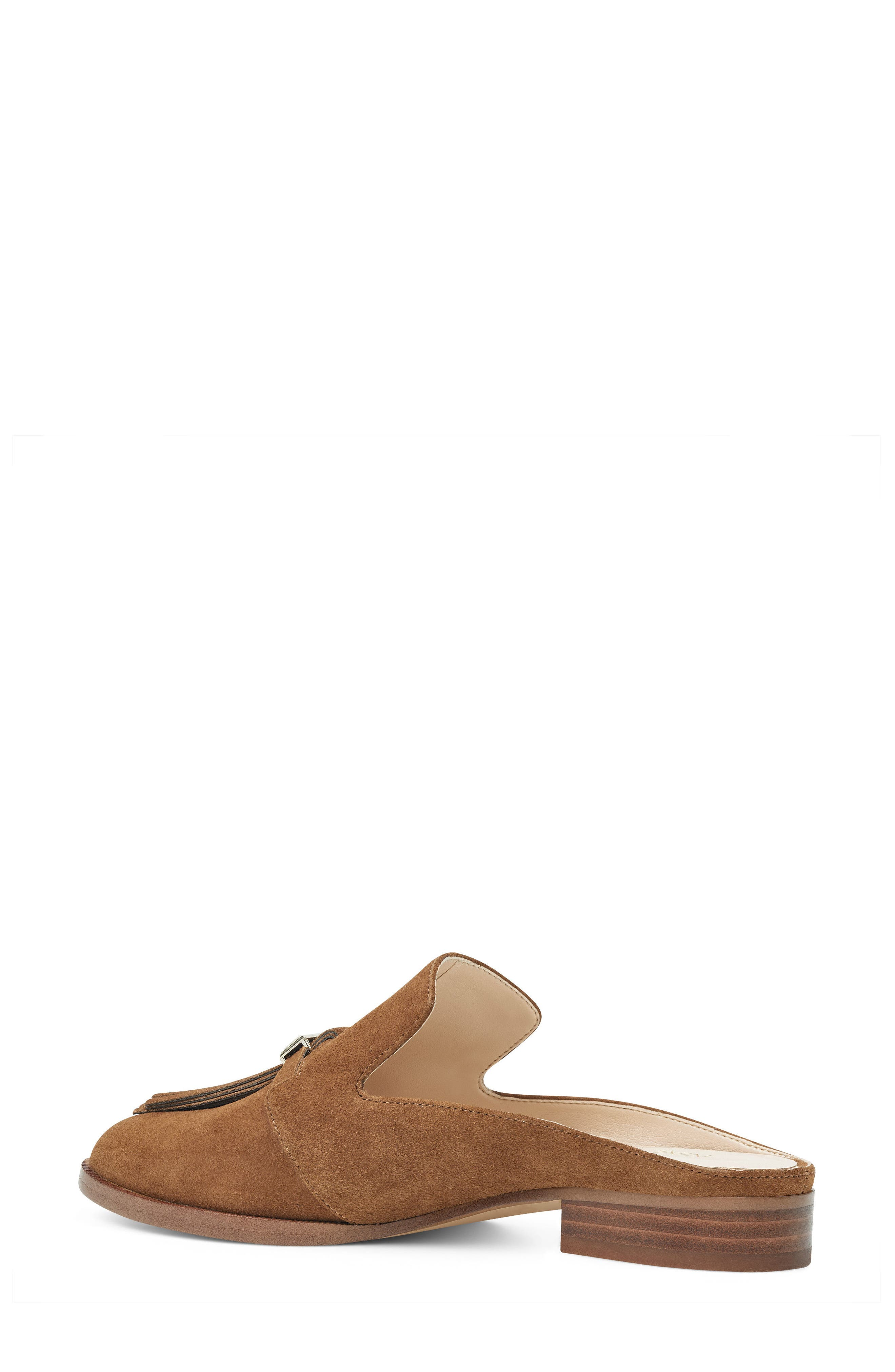 Huebart Loafer Mule,                             Alternate thumbnail 2, color,                             Brown Suede